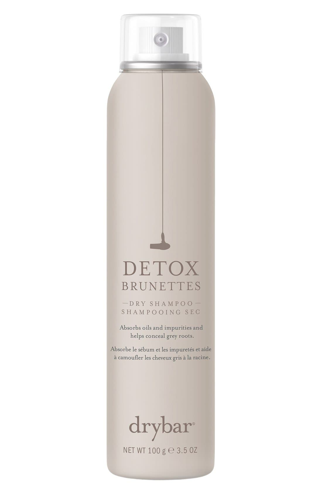 DRYBAR, Detox Dry Shampoo for Brunettes, Main thumbnail 1, color, NO COLOR