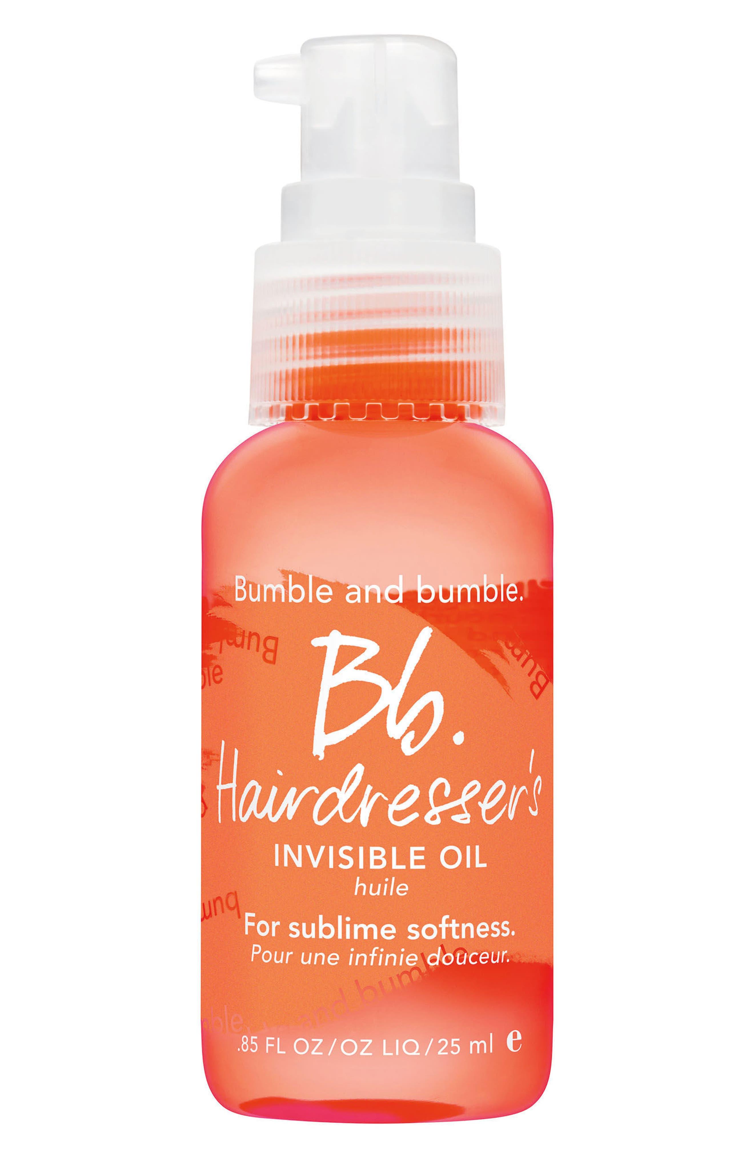 BUMBLE AND BUMBLE., Bumble and bumble Hairdresser's Invisible Oil, Alternate thumbnail 4, color, NO COLOR