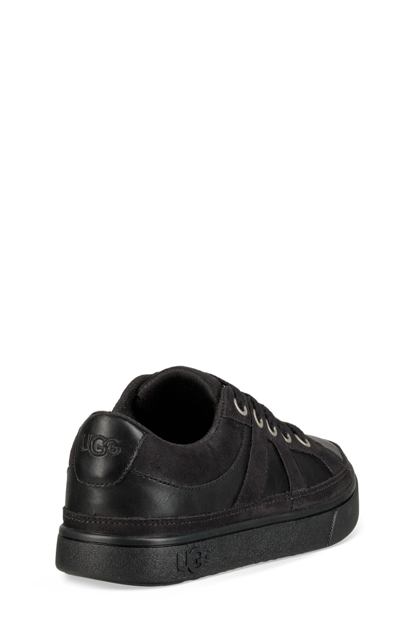 UGG<SUP>®</SUP>, Marcus Sneaker, Alternate thumbnail 2, color, BLACK