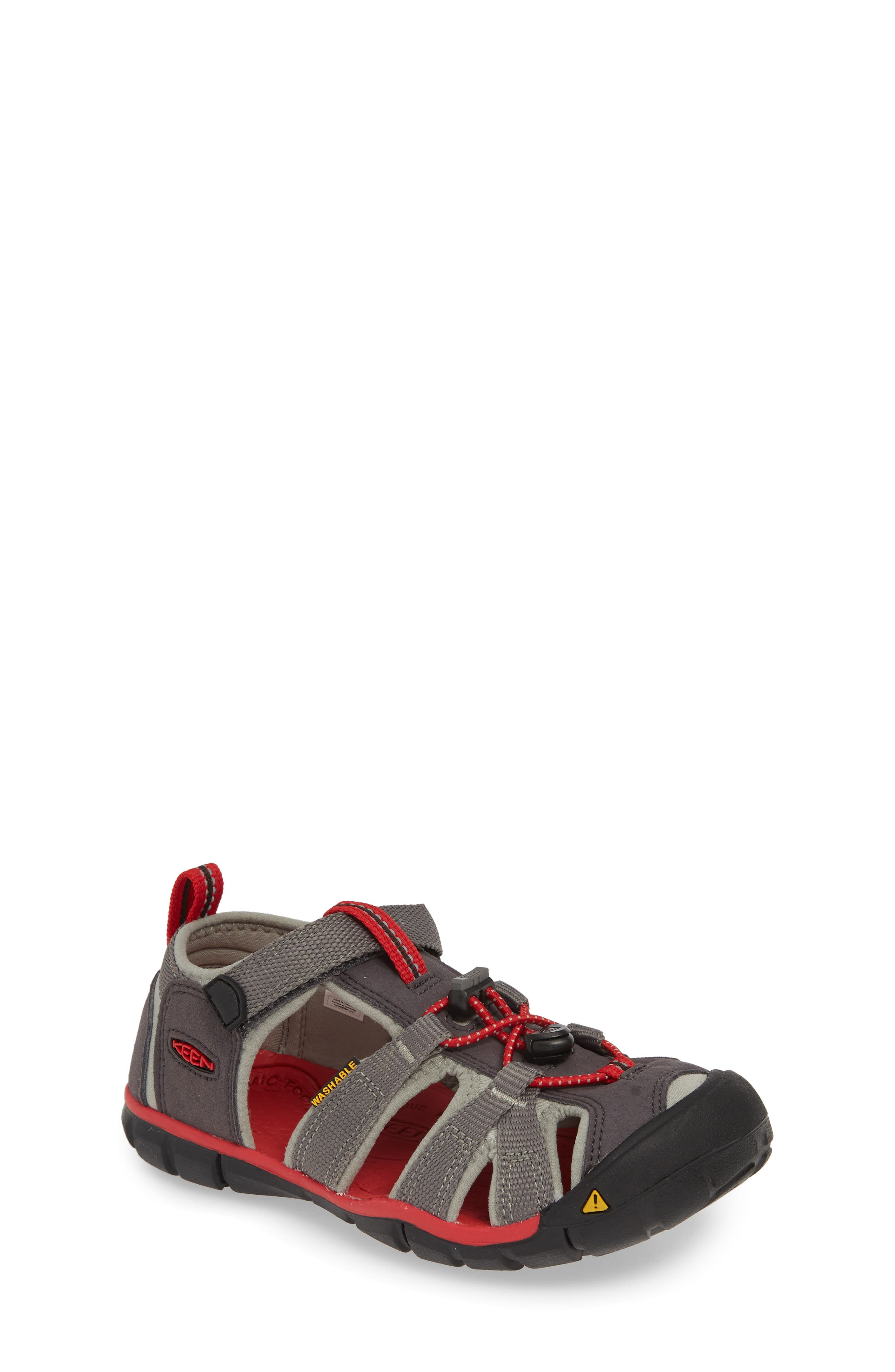 Toddler Keen Seacamp Ii Water Friendly Sandal Size 1 M  Grey