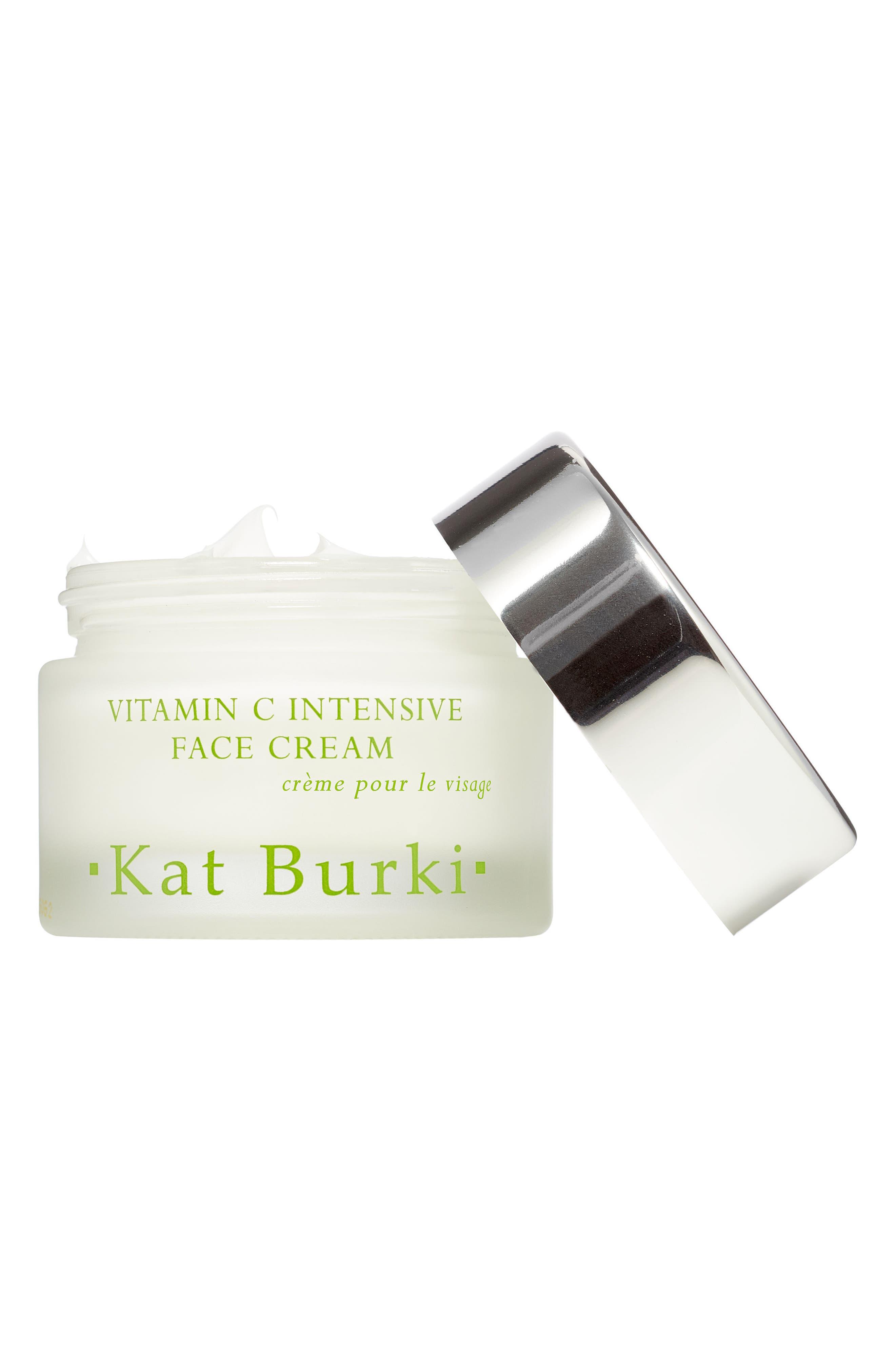 KAT BURKI, SPACE.NK.apothecary Kat Burki Vitamin C Intensive Face Cream, Alternate thumbnail 3, color, NO COLOR