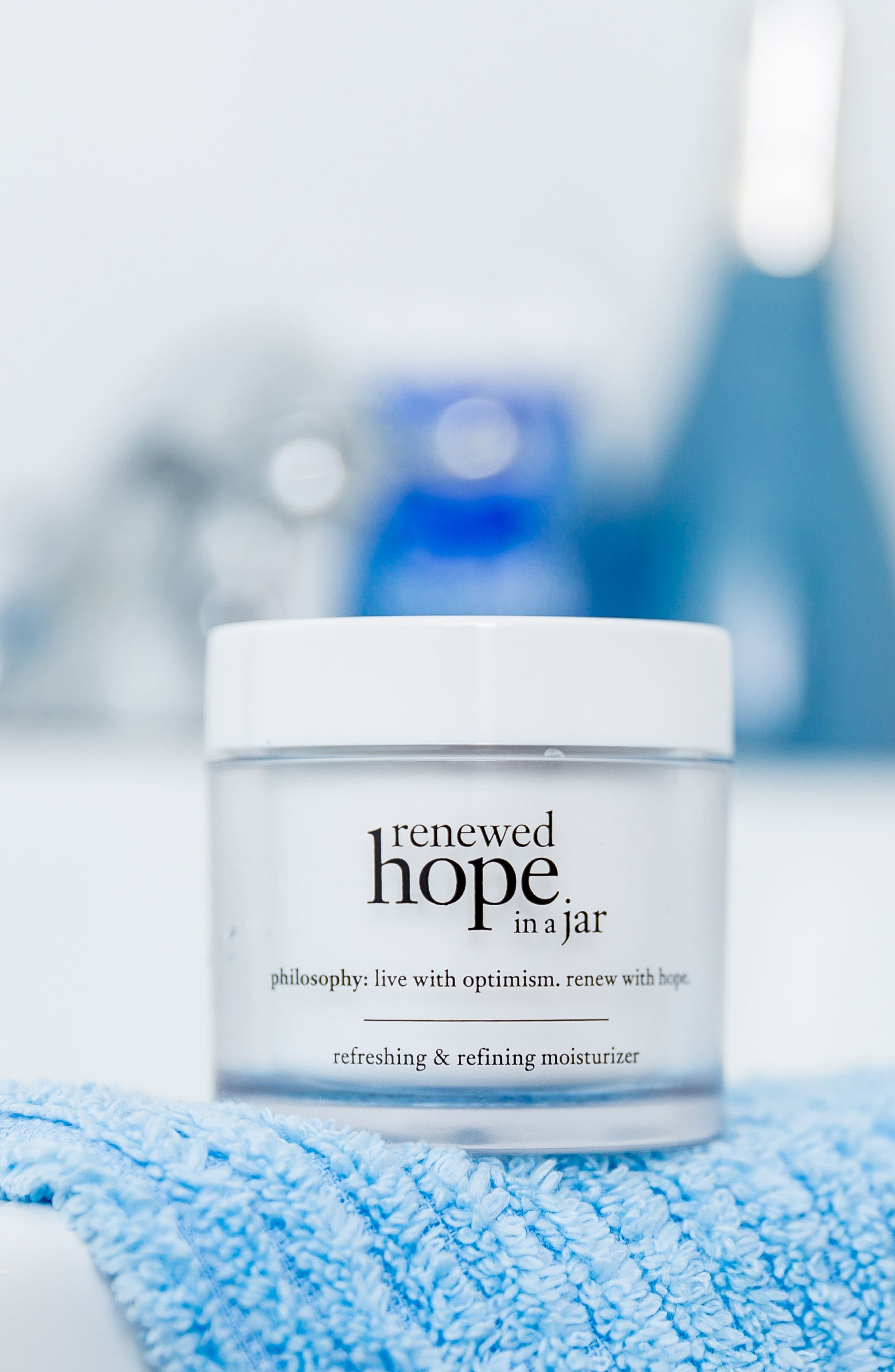 PHILOSOPHY, renewed hope in a jar refreshing & refining moisturizer, Alternate thumbnail 7, color, NO COLOR