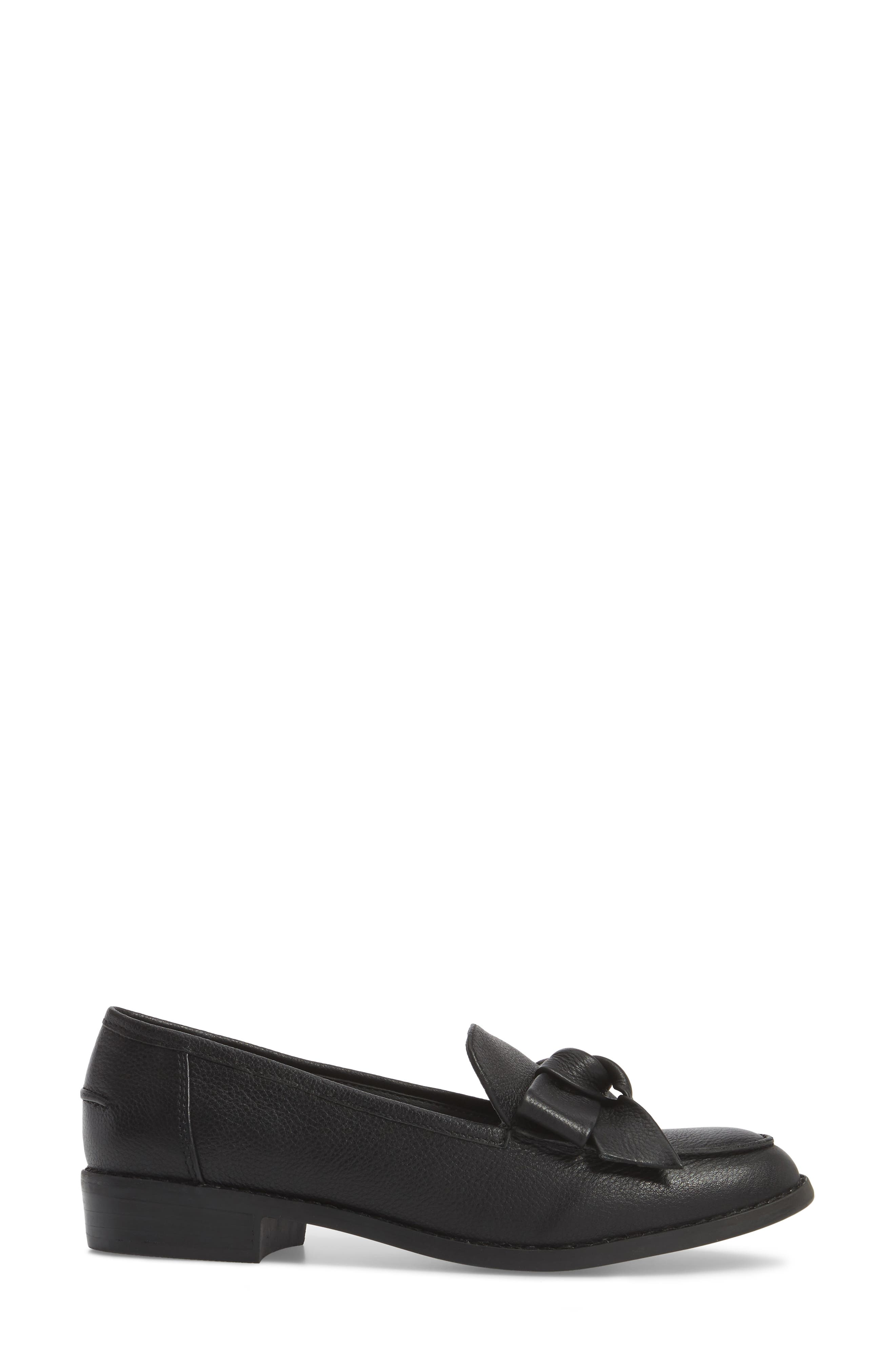 VERY VOLATILE, Beaux Loafer, Alternate thumbnail 3, color, 001