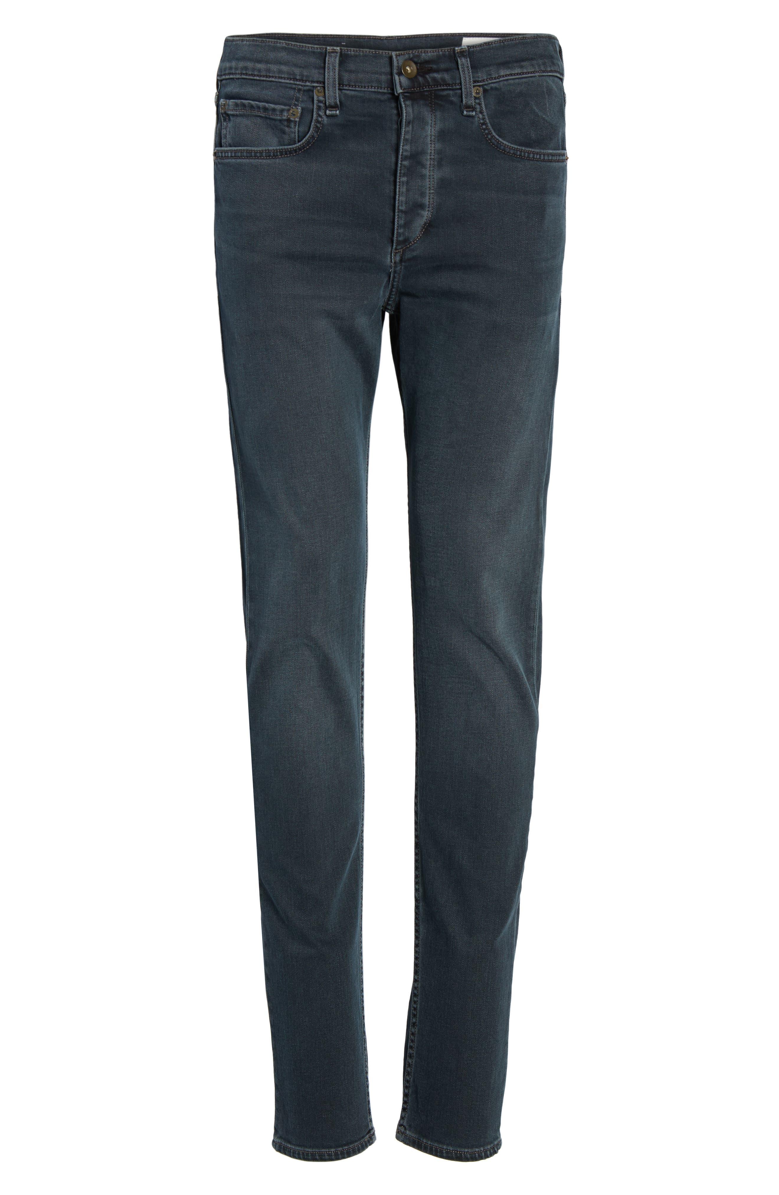 RAG & BONE, Fit 2 Slim Fit Jeans, Alternate thumbnail 7, color, MINNA