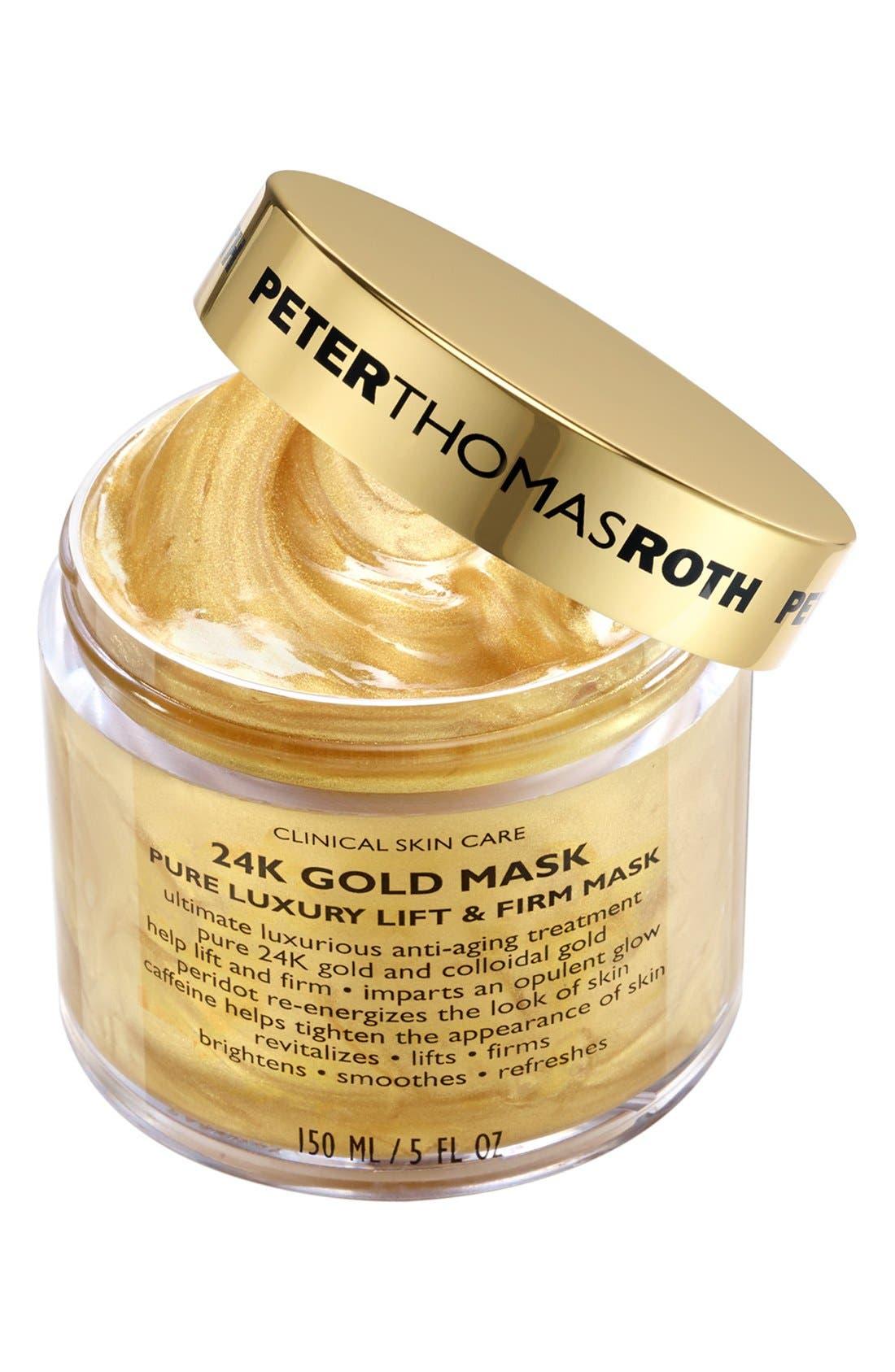 PETER THOMAS ROTH, 24K Gold Mask, Main thumbnail 1, color, NO COLOR