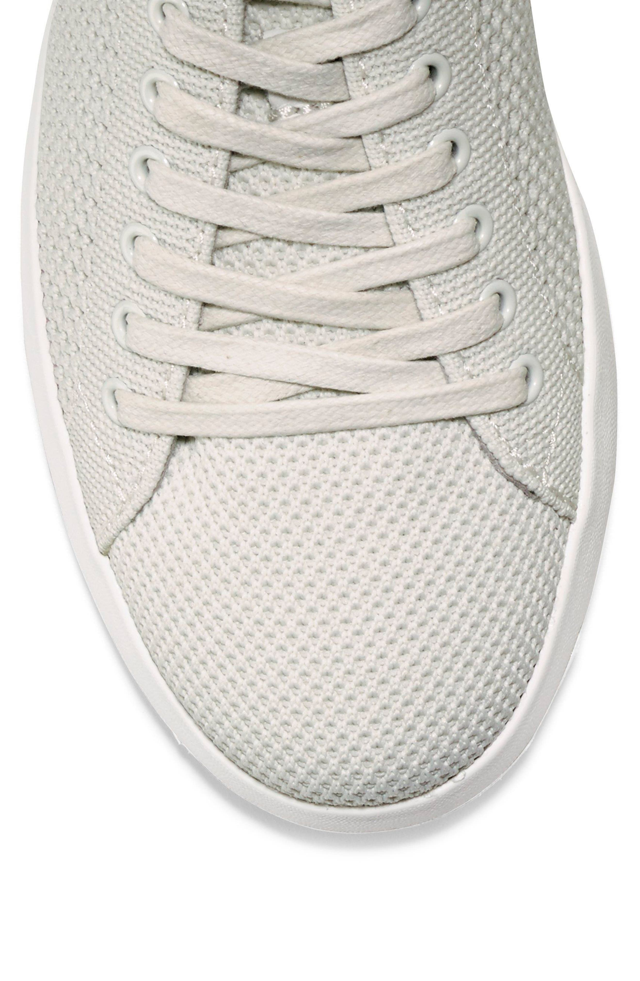 COLE HAAN, GrandPro Stitchlite Sneaker, Alternate thumbnail 7, color, CHALK FABRIC