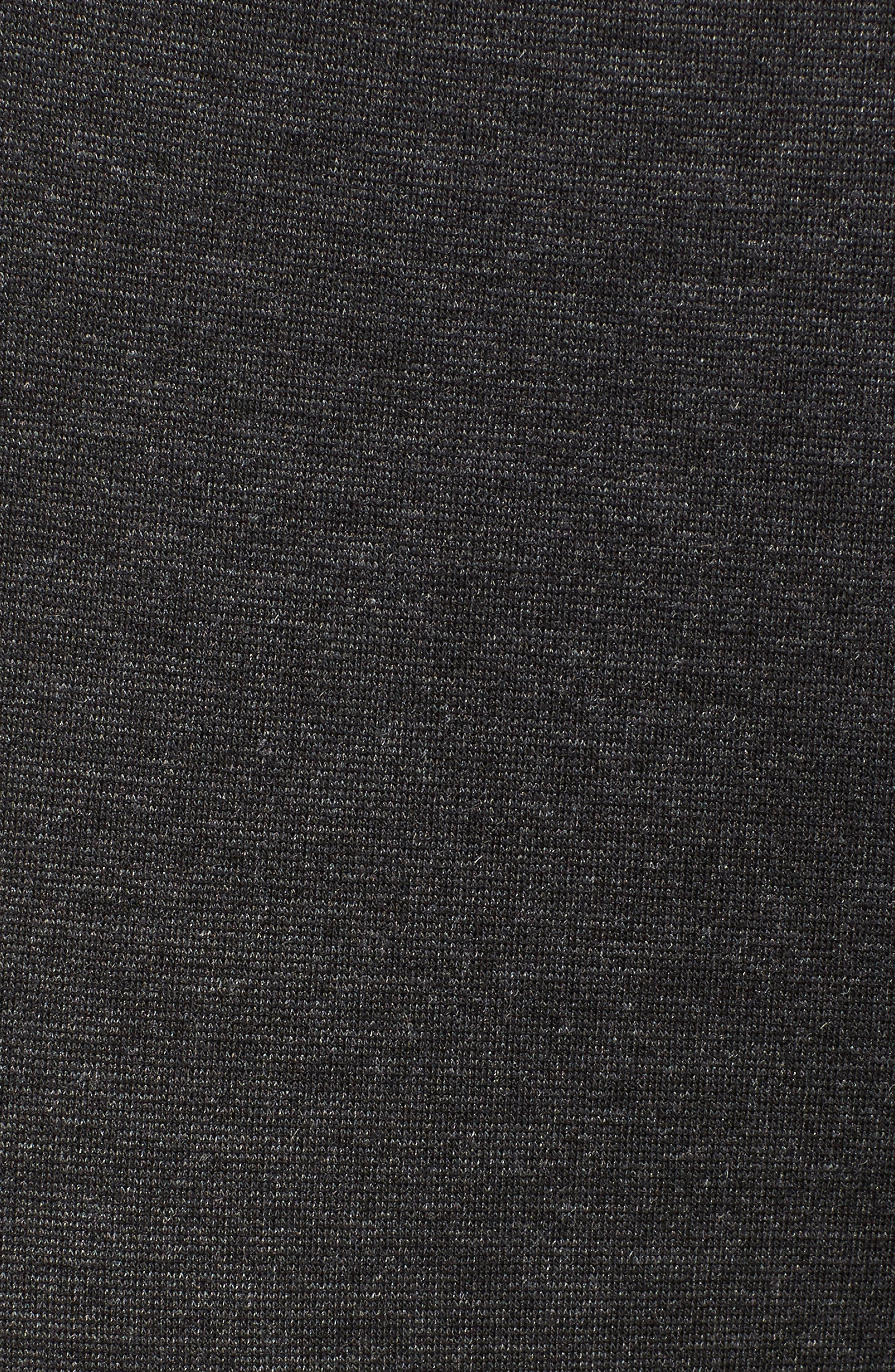 VINCE CAMUTO, Two by Vince Camuto Seamed Back Leggings, Alternate thumbnail 6, color, DARK HEATHER GREY