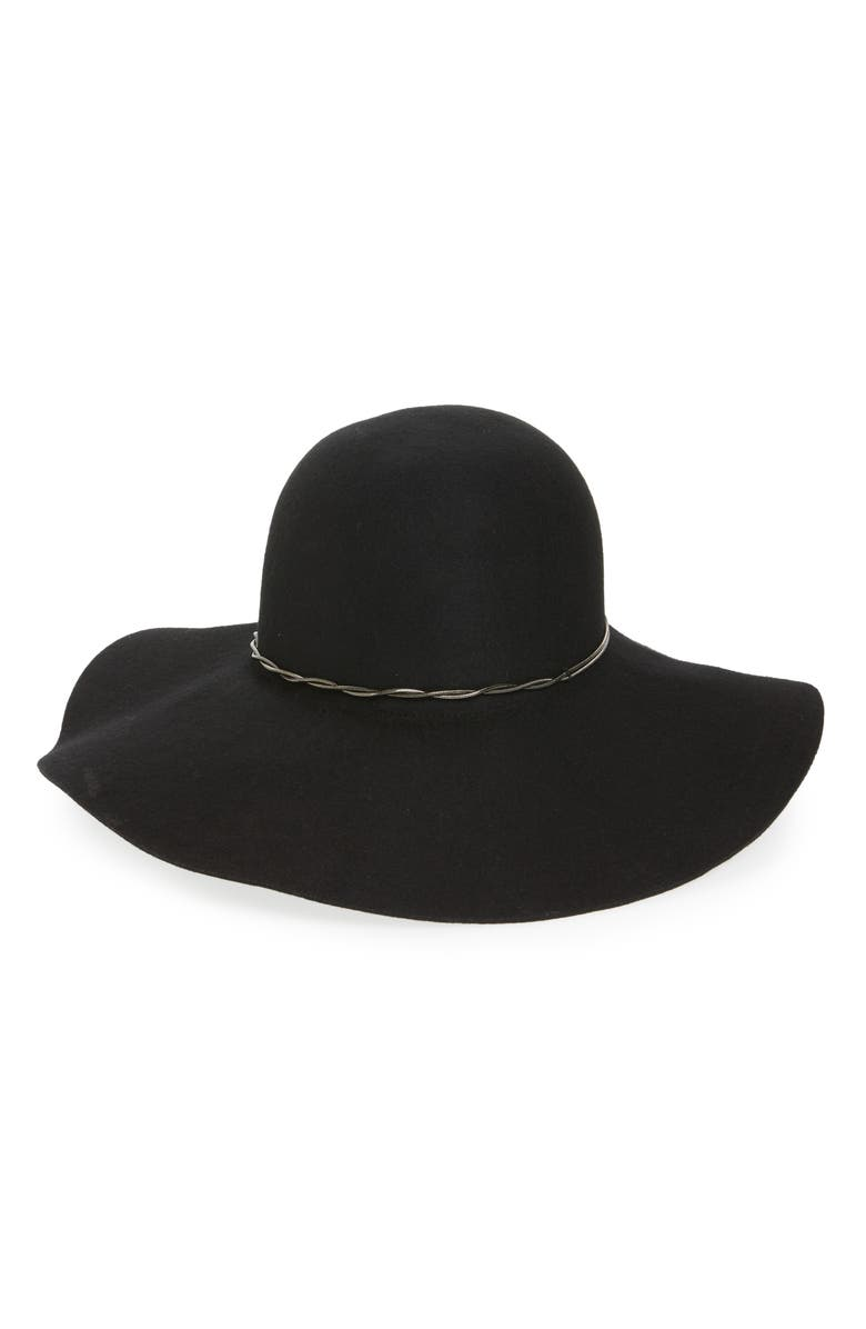 41be7294d3f411 HALOGEN<SUP>®</SUP> Chain Band Floppy Hat ...