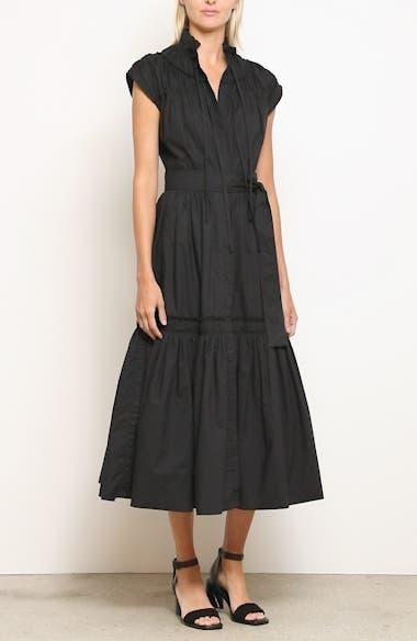 Smocked Poplin Dress, video thumbnail