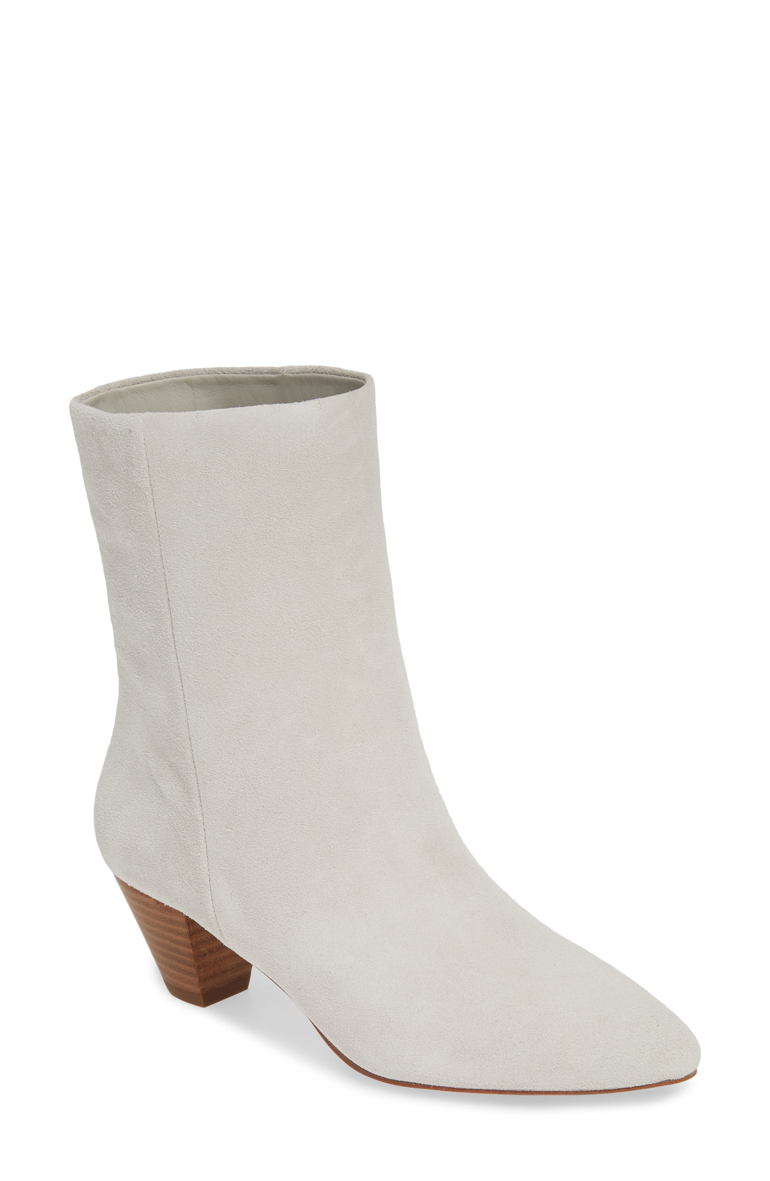 SOMETHING NAVY Milo Boot, Main, color, LIGHT GREY SUEDE