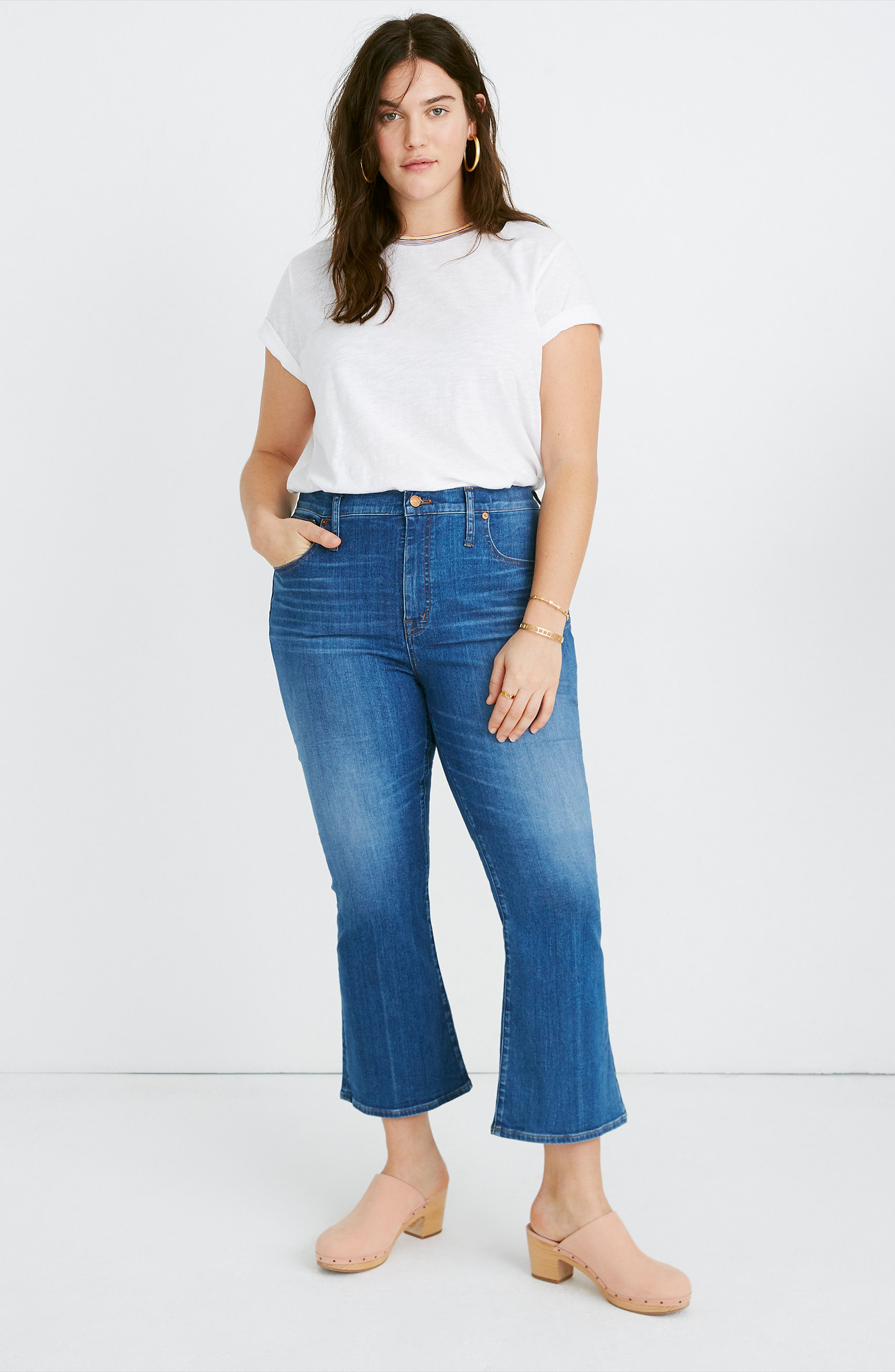 MADEWELL, Eco Edition Cali Demi Boot Jeans, Alternate thumbnail 12, color, TIERNEY WASH