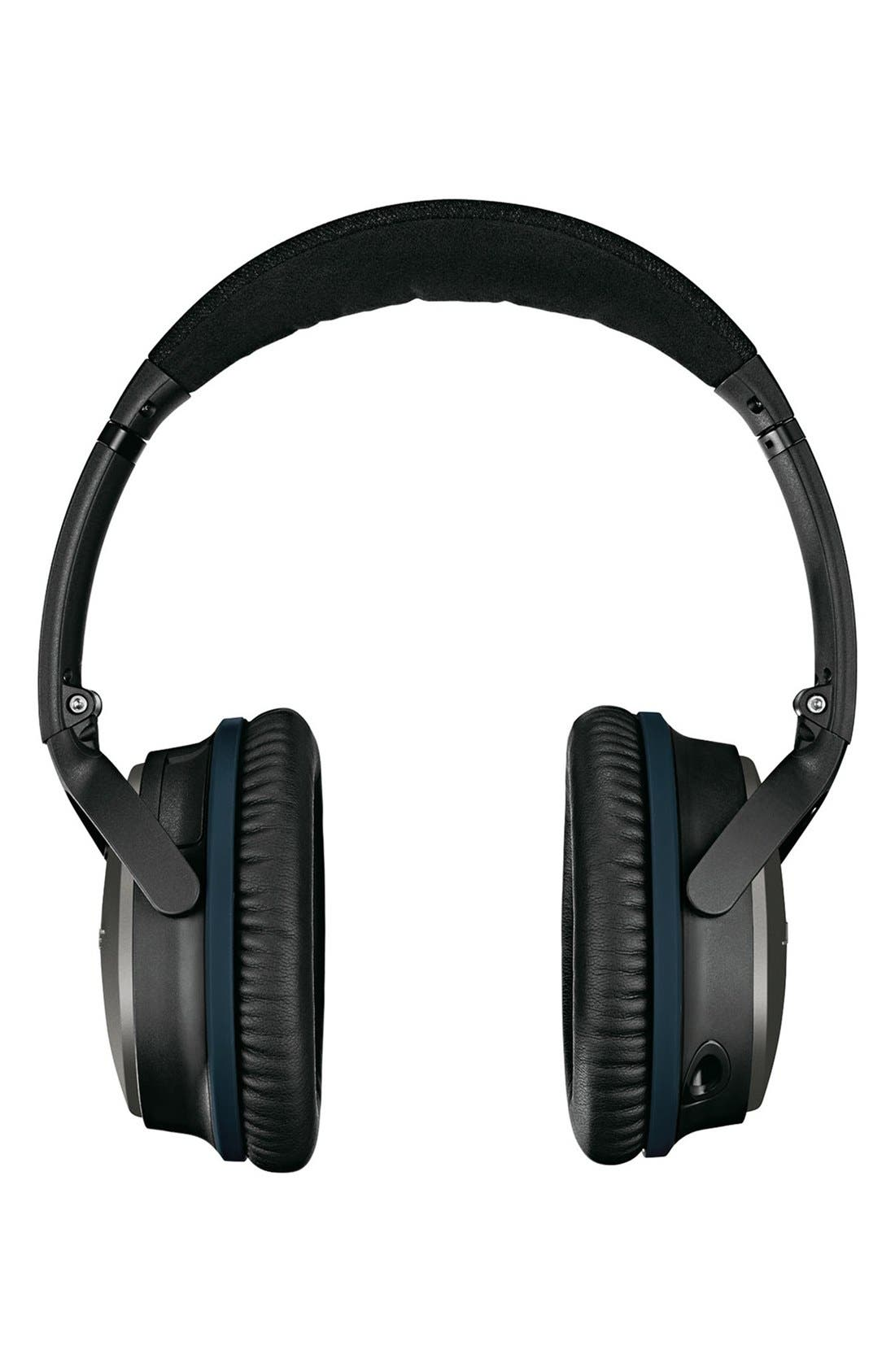 BOSE<SUP>®</SUP>, QuietComfort<sup>®</sup> 25 Acoustic Noise Cancelling<sup>®</sup> iOS Headphones, Alternate thumbnail 3, color, 001