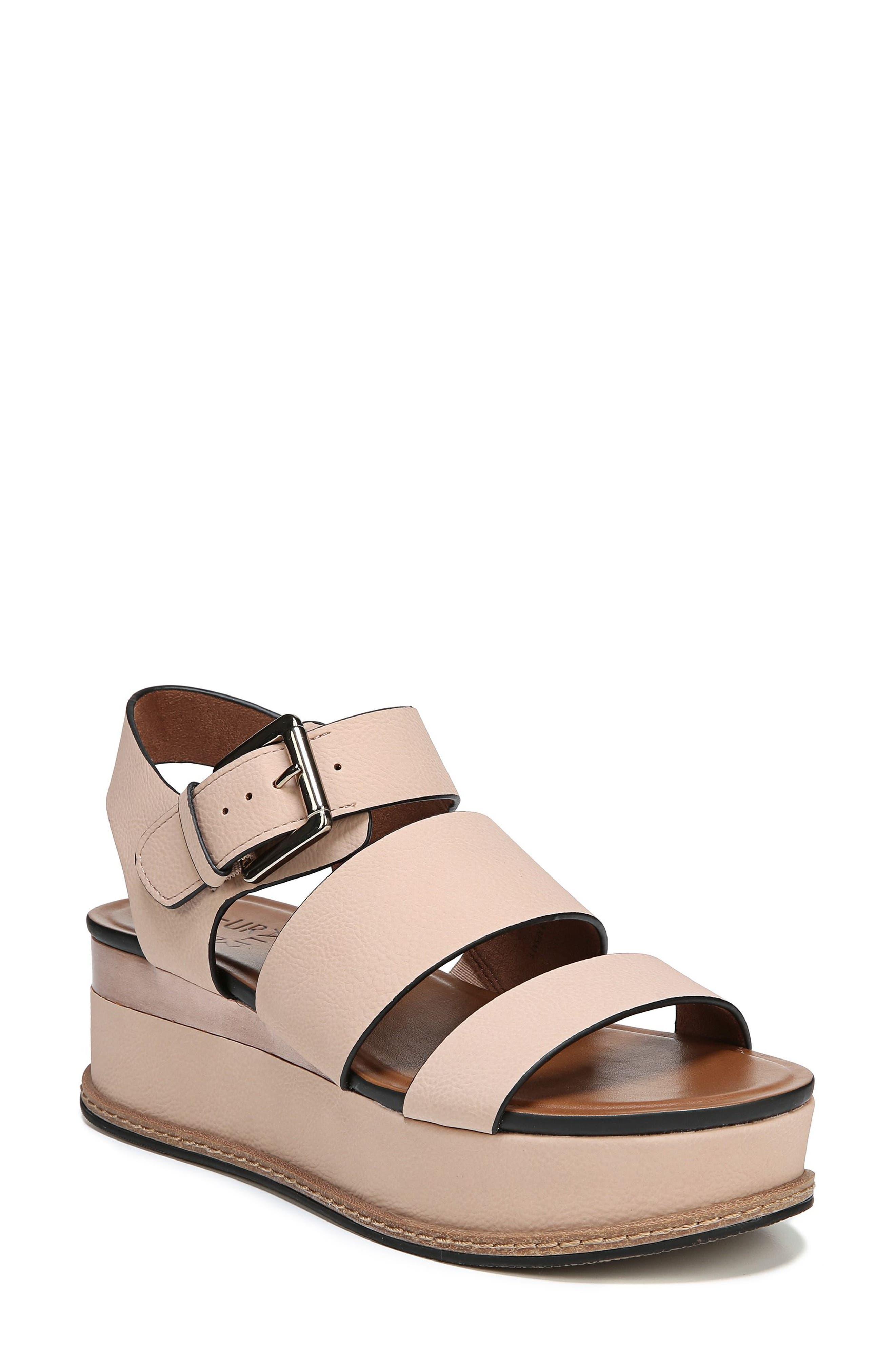 Naturalizer Billie Platform Sandal- Pink