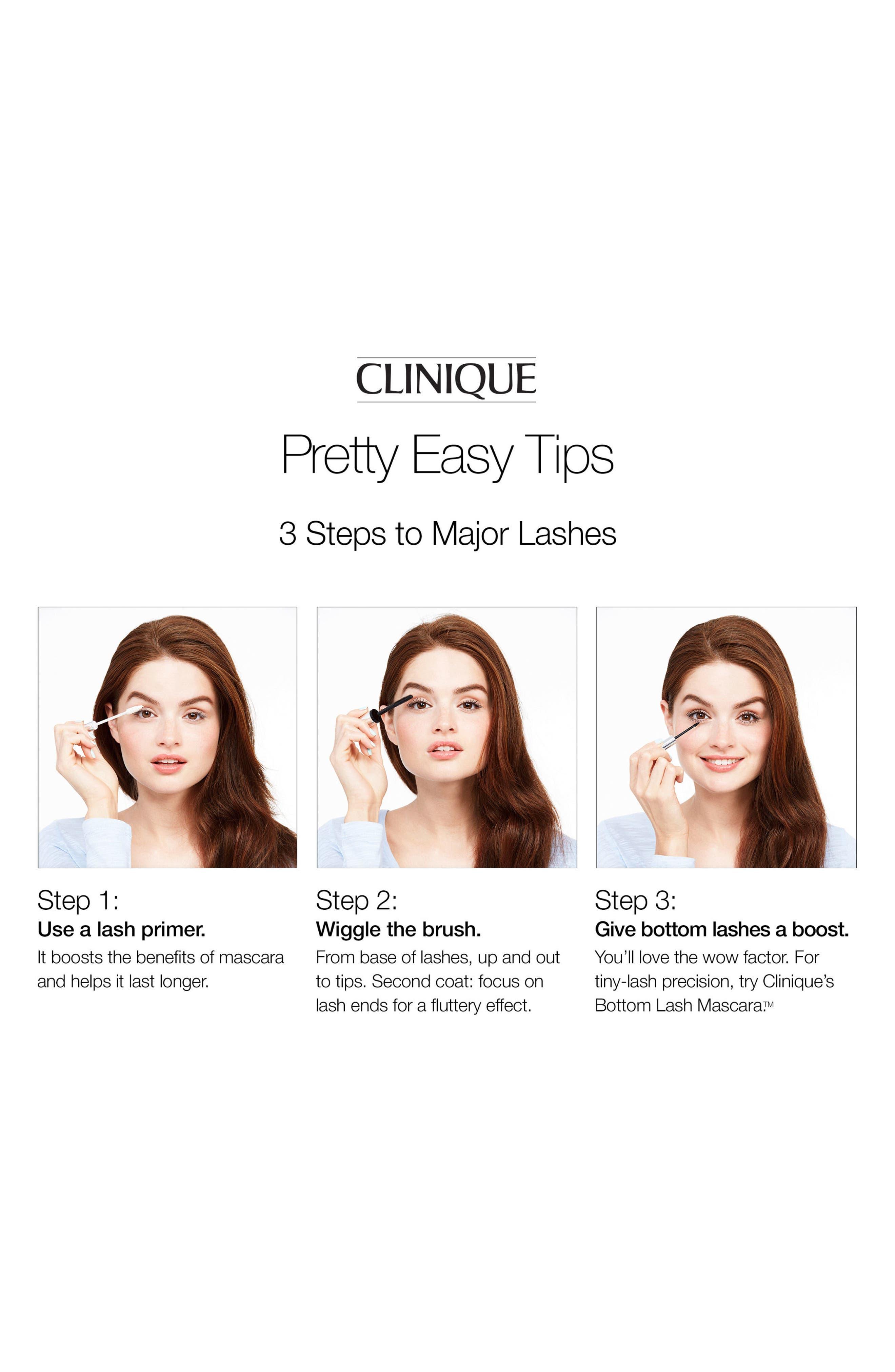 CLINIQUE, Lash Power Mascara Long-Wearing Formula, Alternate thumbnail 3, color, 001