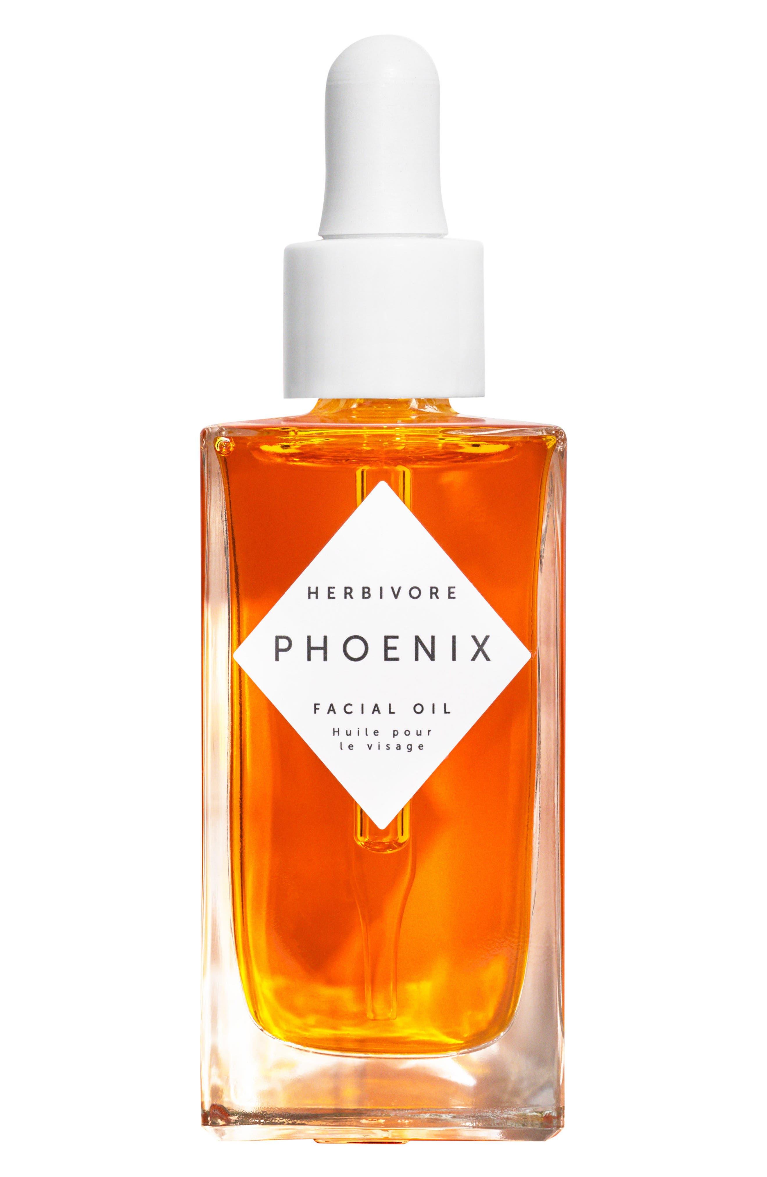 HERBIVORE BOTANICALS, Phoenix Facial Oil, Main thumbnail 1, color, NO COLOR