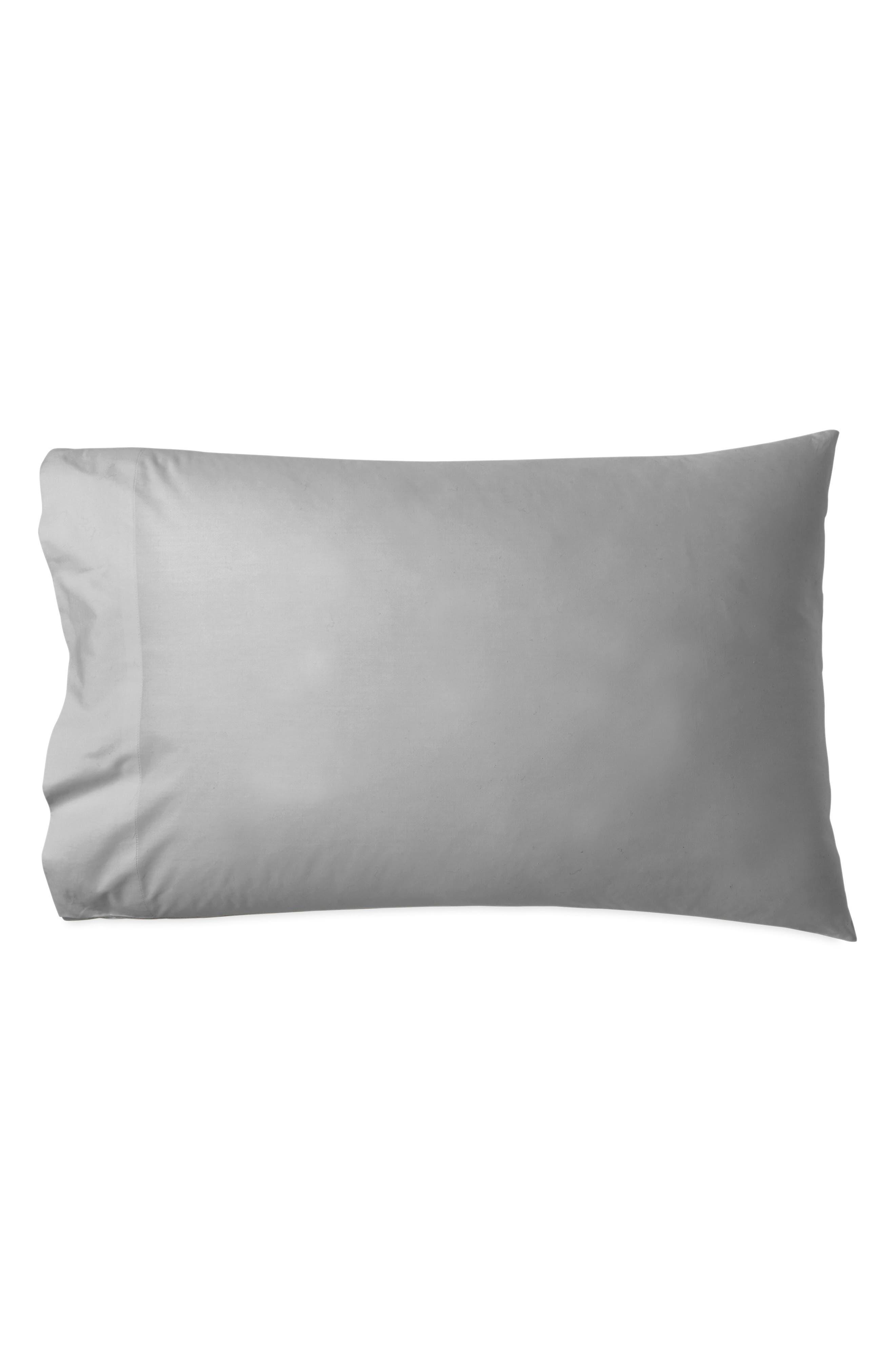 DONNA KARAN NEW YORK, Ultrafine 600 Thread Count Pillowcases, Main thumbnail 1, color, 020