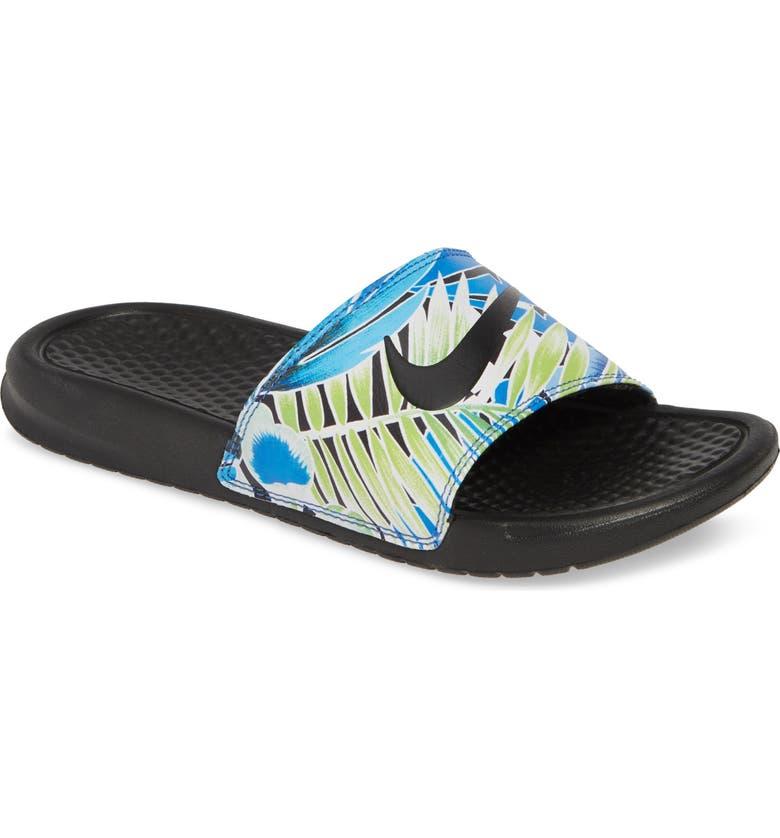 7522323fc Nike  Benassi - Just Do It  Print Sandal (Women)