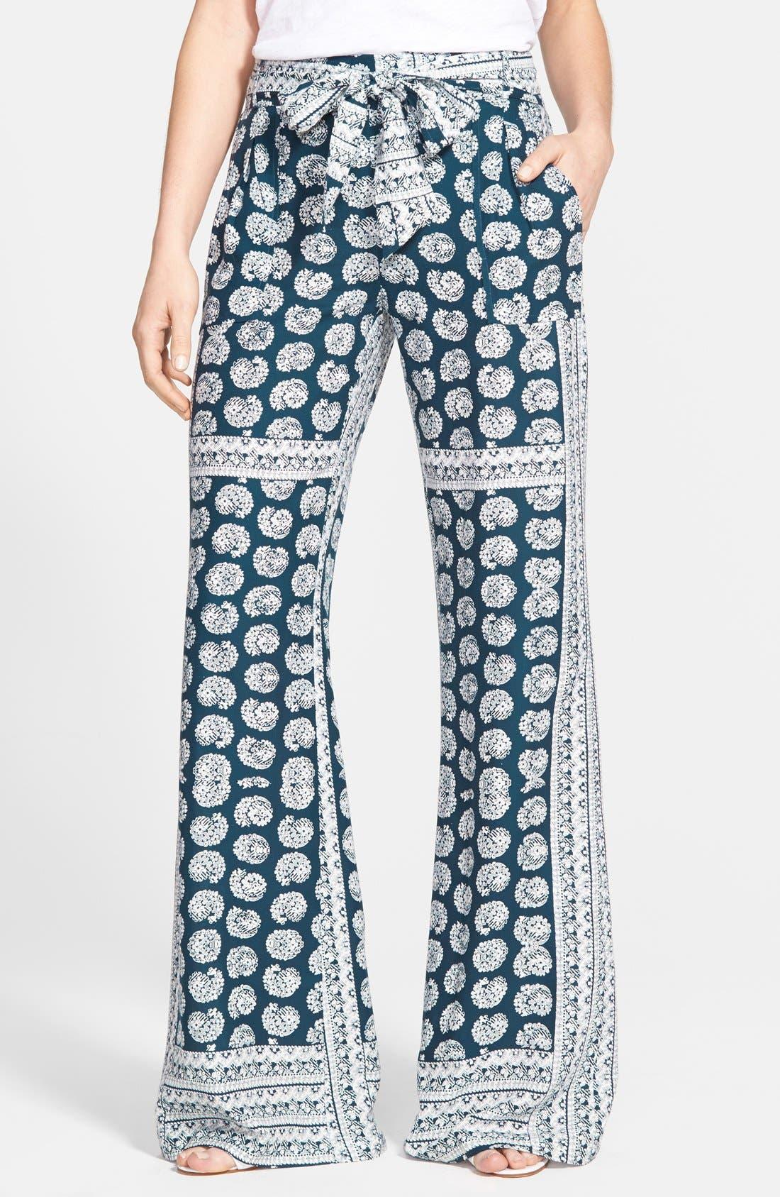 JESSICA SIMPSON, 'Kingston' Soft Woven Pants, Main thumbnail 1, color, 410