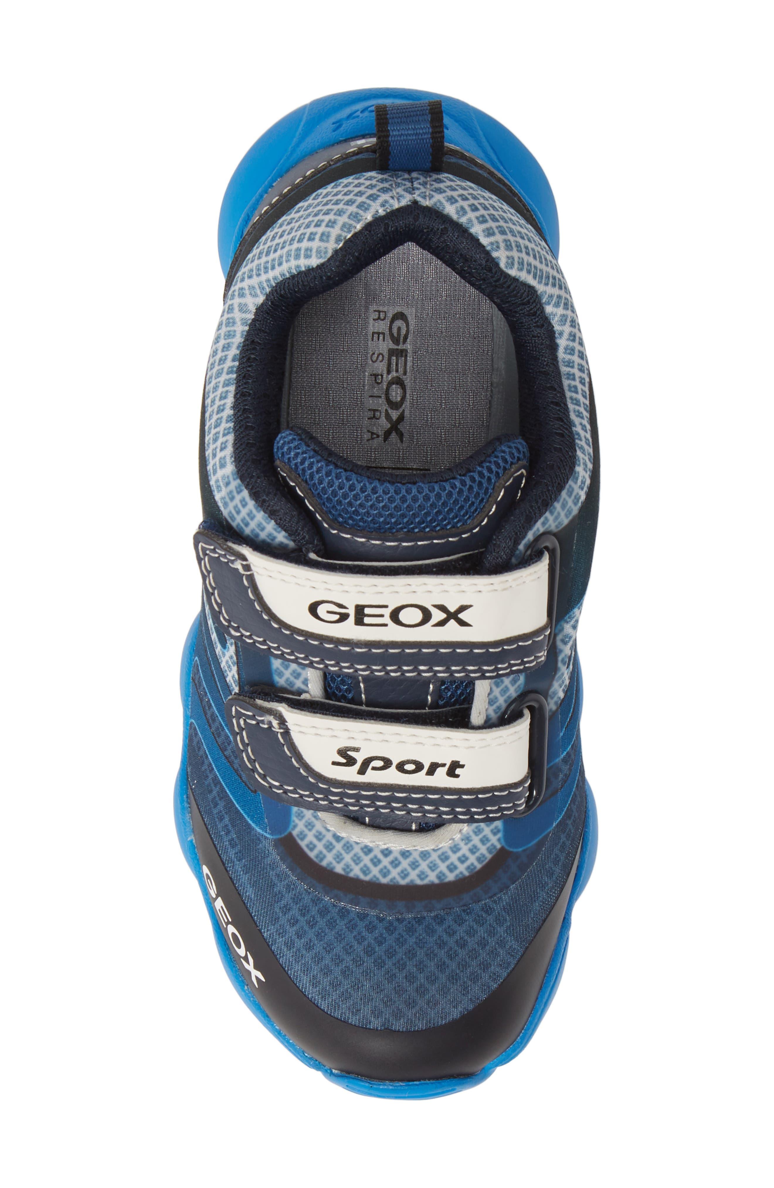 GEOX, J Munfrey Sneaker, Alternate thumbnail 5, color, NAVY/ AVIO