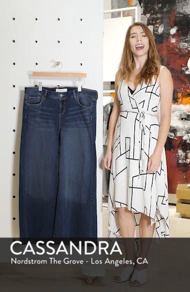 SLINK High Waist Wide Leg Crop Jeans, sales video thumbnail