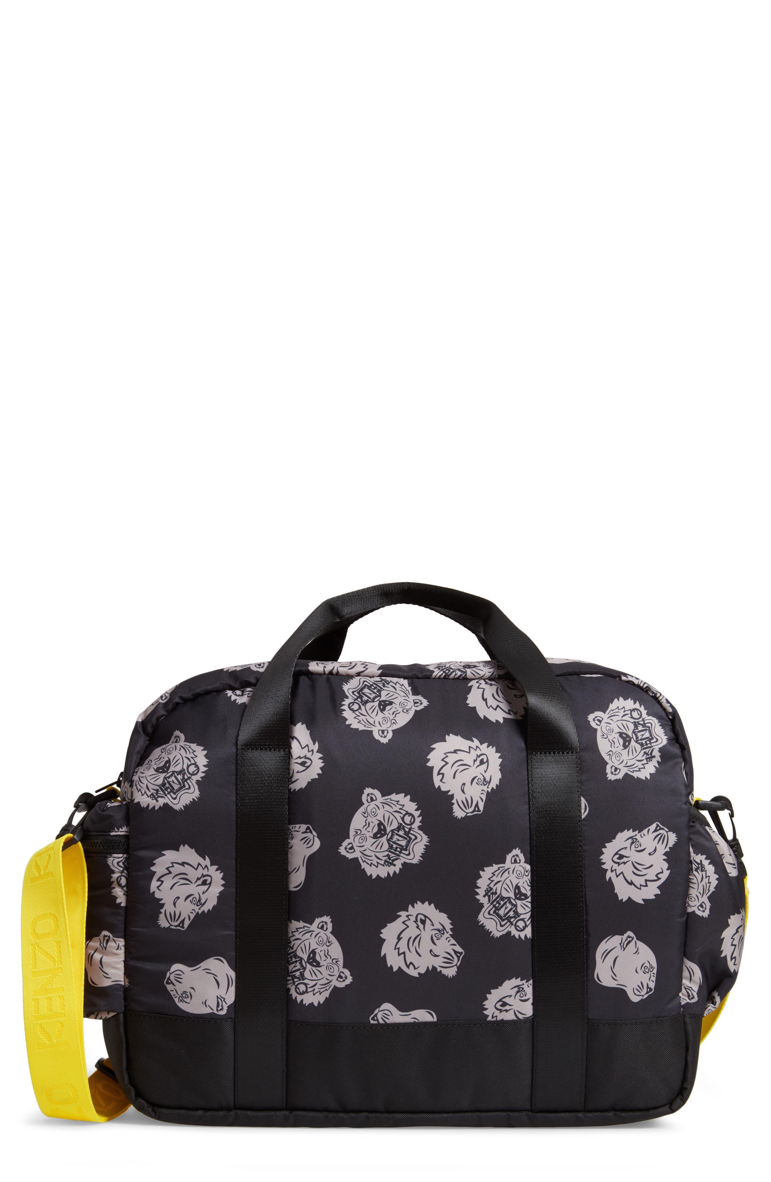 KENZO Diaper Bag, Main, color, 020