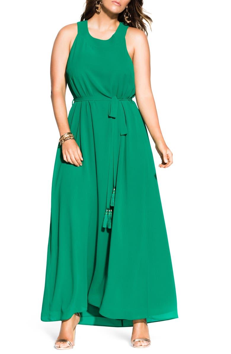 City Chic Dresses TASSEL TIE MAXI SUNDRESS