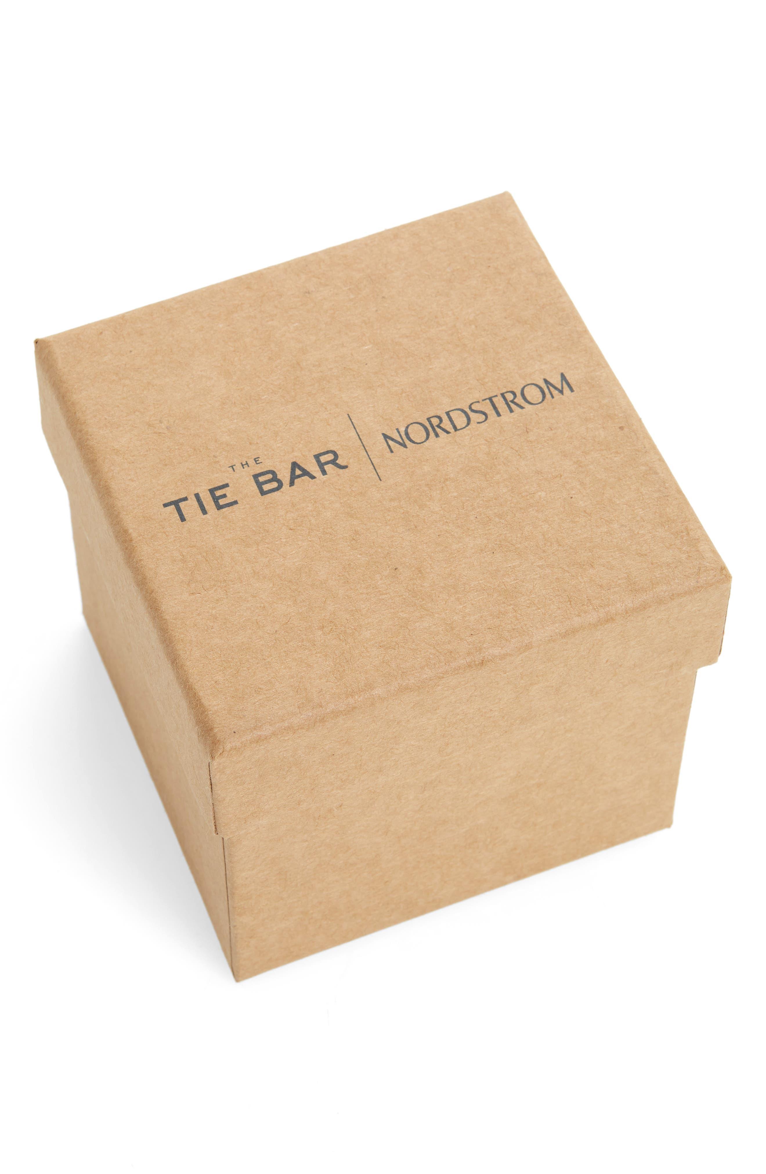 THE TIE BAR, Goal Line Box Set, Alternate thumbnail 2, color, HUNTER GREEN