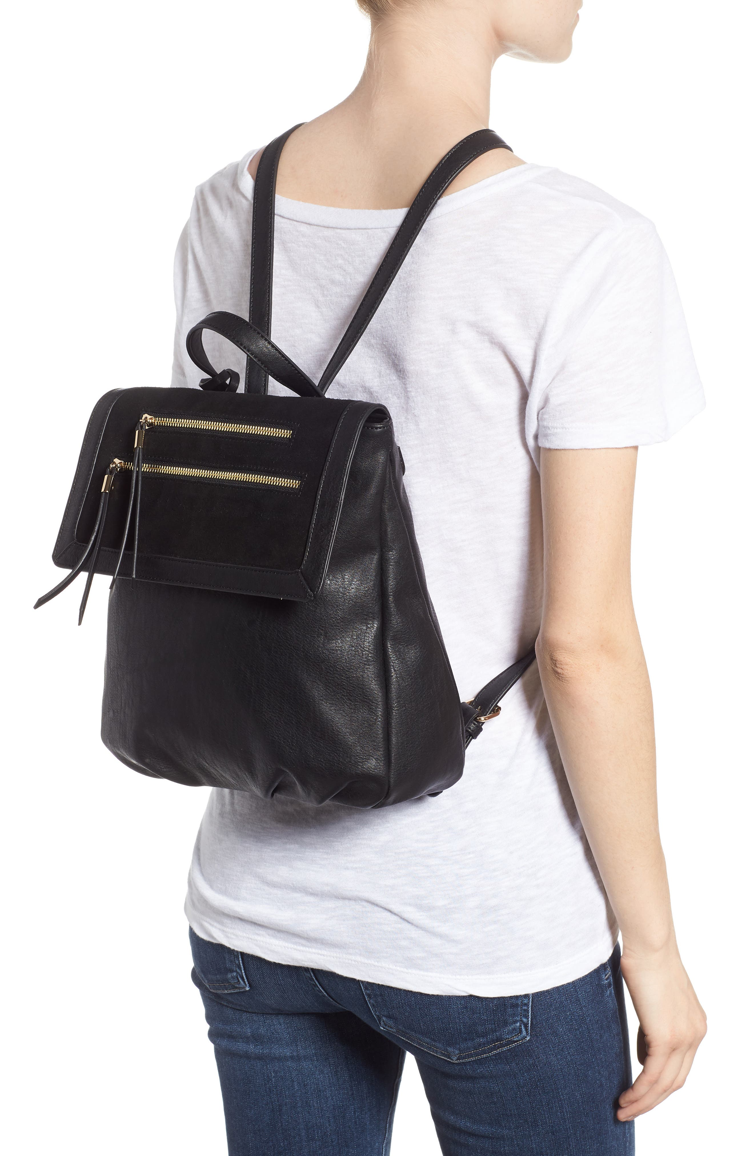 SOLE SOCIETY, Chele Backpack, Alternate thumbnail 2, color, 001