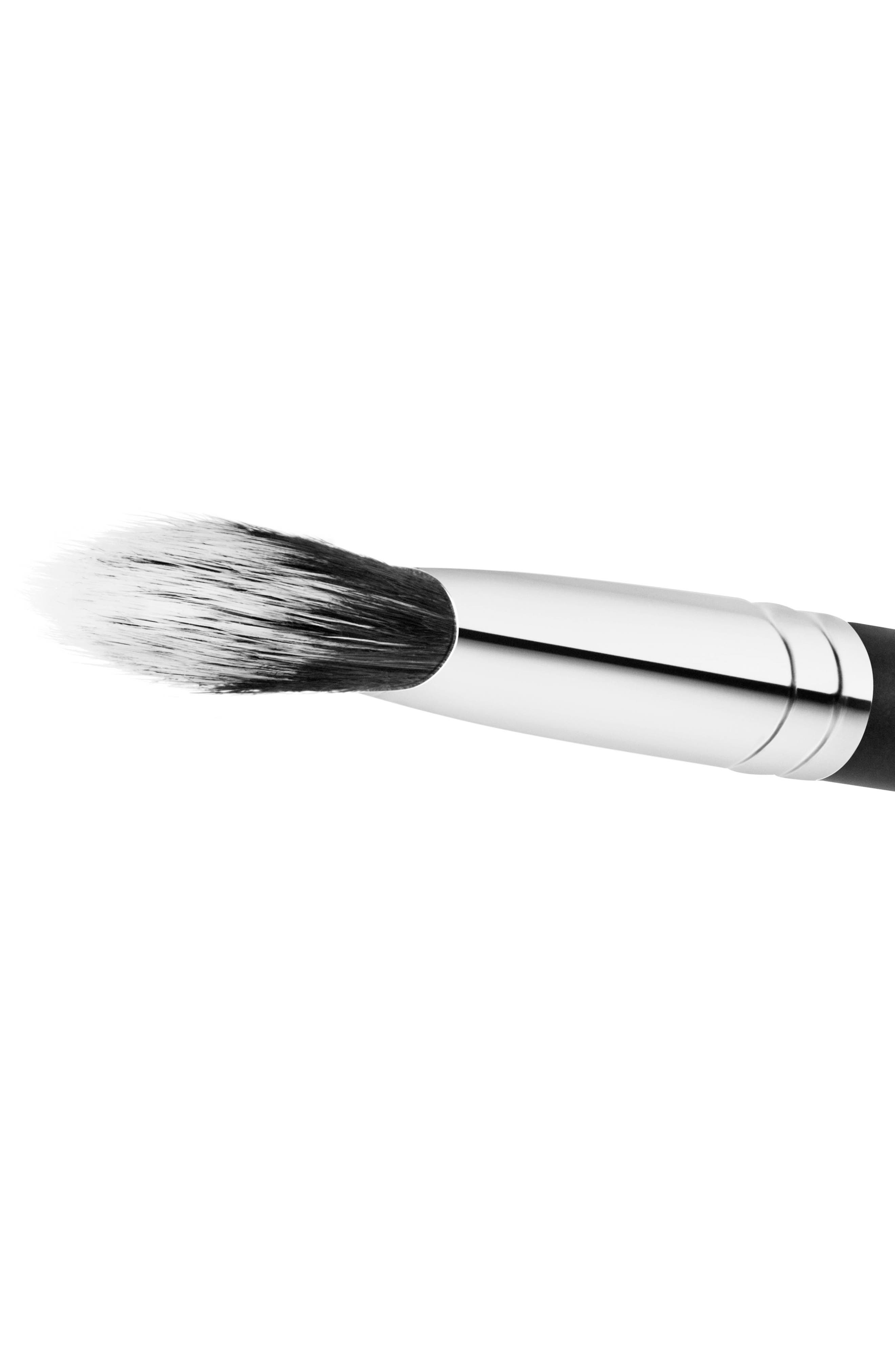 MAC COSMETICS, MAC 132S Synthetic Duo Fibre Foundation Brush, Alternate thumbnail 2, color, NO COLOR