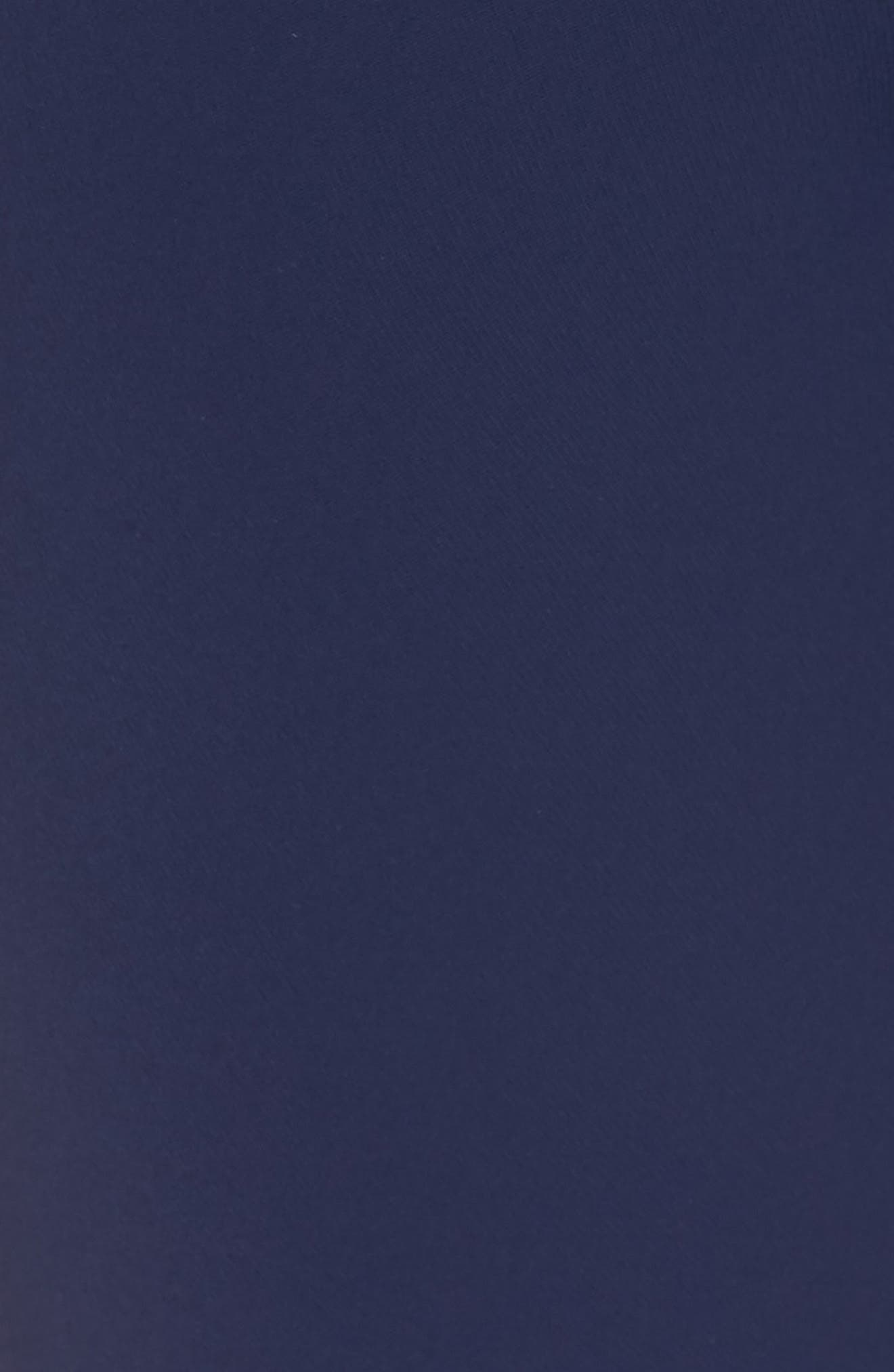 MICHAEL MICHAEL KORS, Belted Ruffle Jumpsuit, Alternate thumbnail 6, color, 400