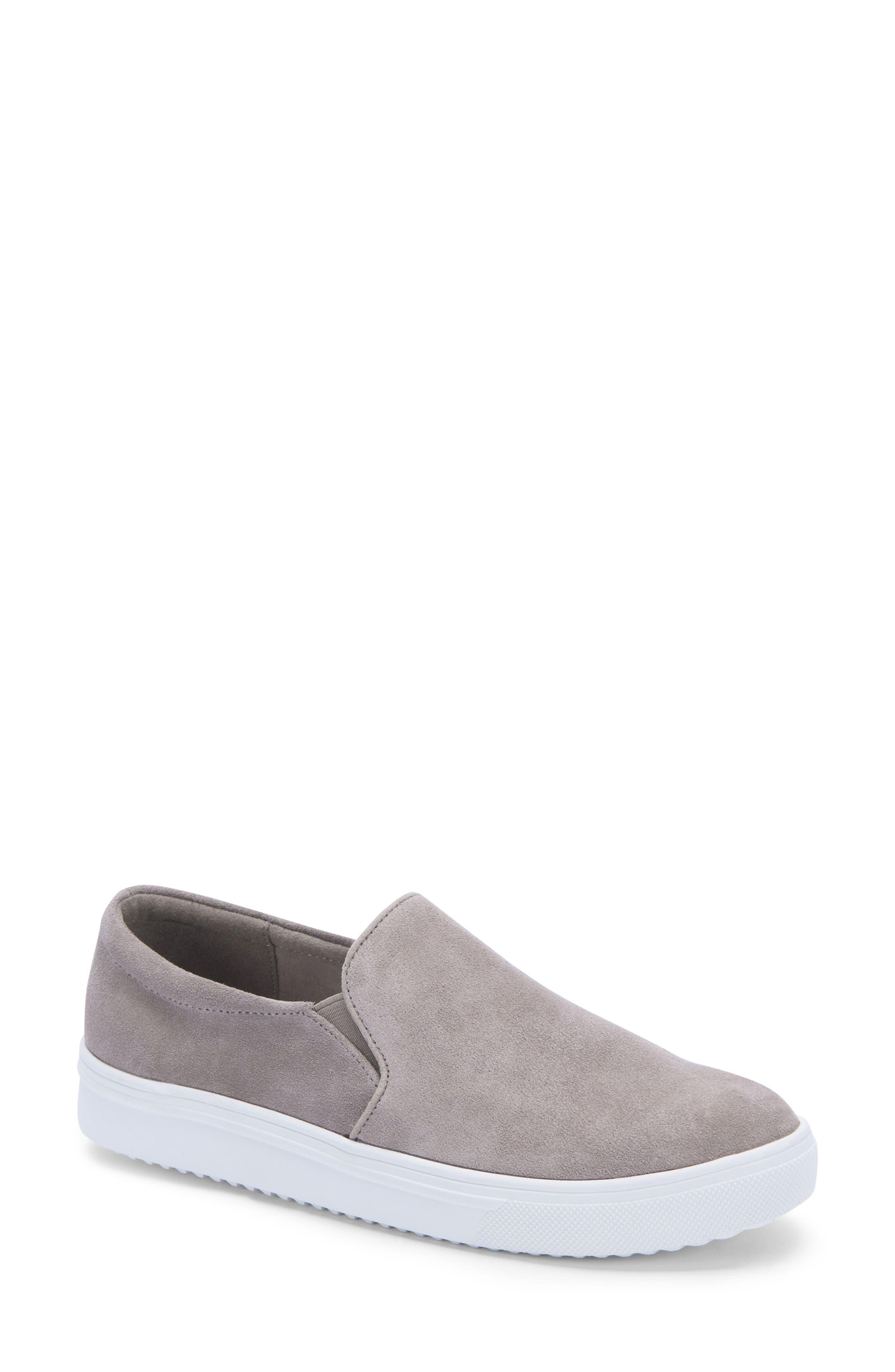 BLONDO Gracie Waterproof Slip-On Sneaker, Main, color, MUSHROOM SUEDE