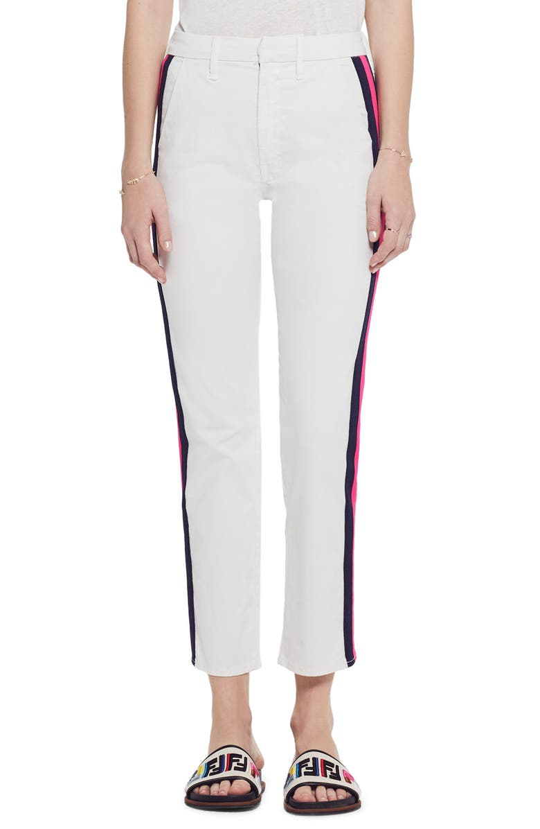 MOTHER THE STRAIGHT SHAKER ANKLE PREP PANTS