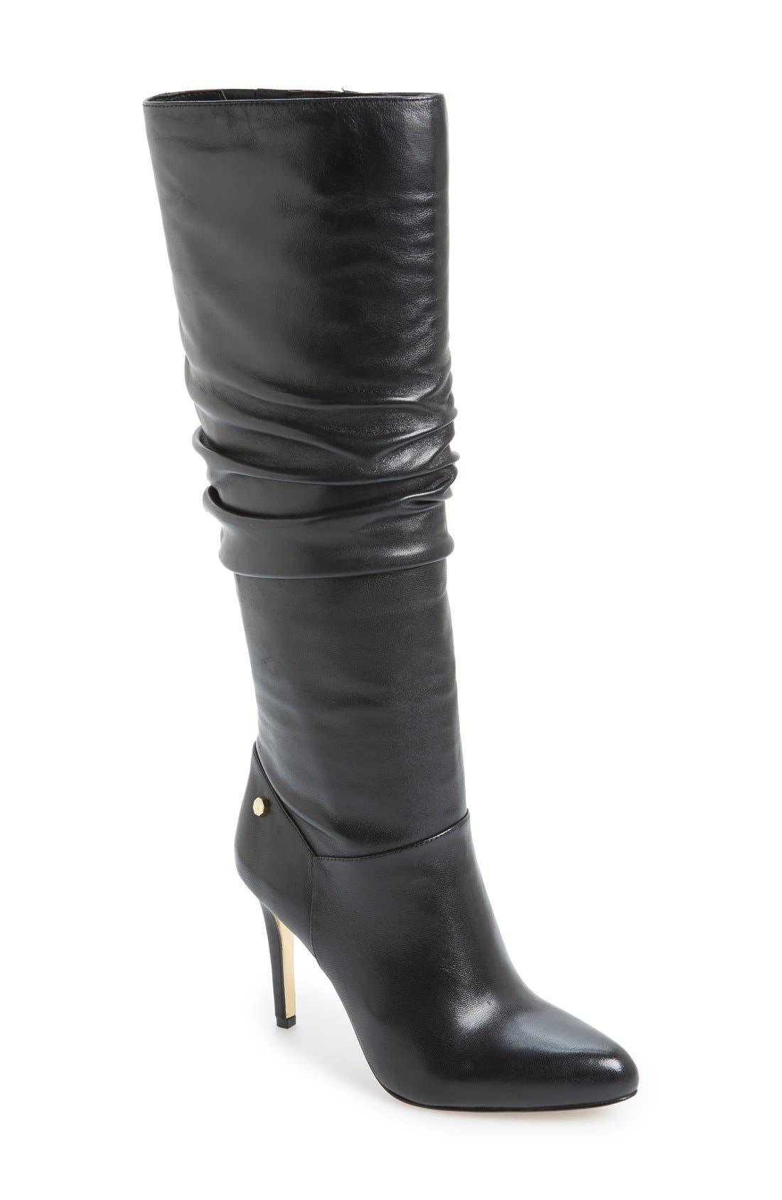 LOUISE ET CIE 'Sallie' Tall Boot, Main, color, 001
