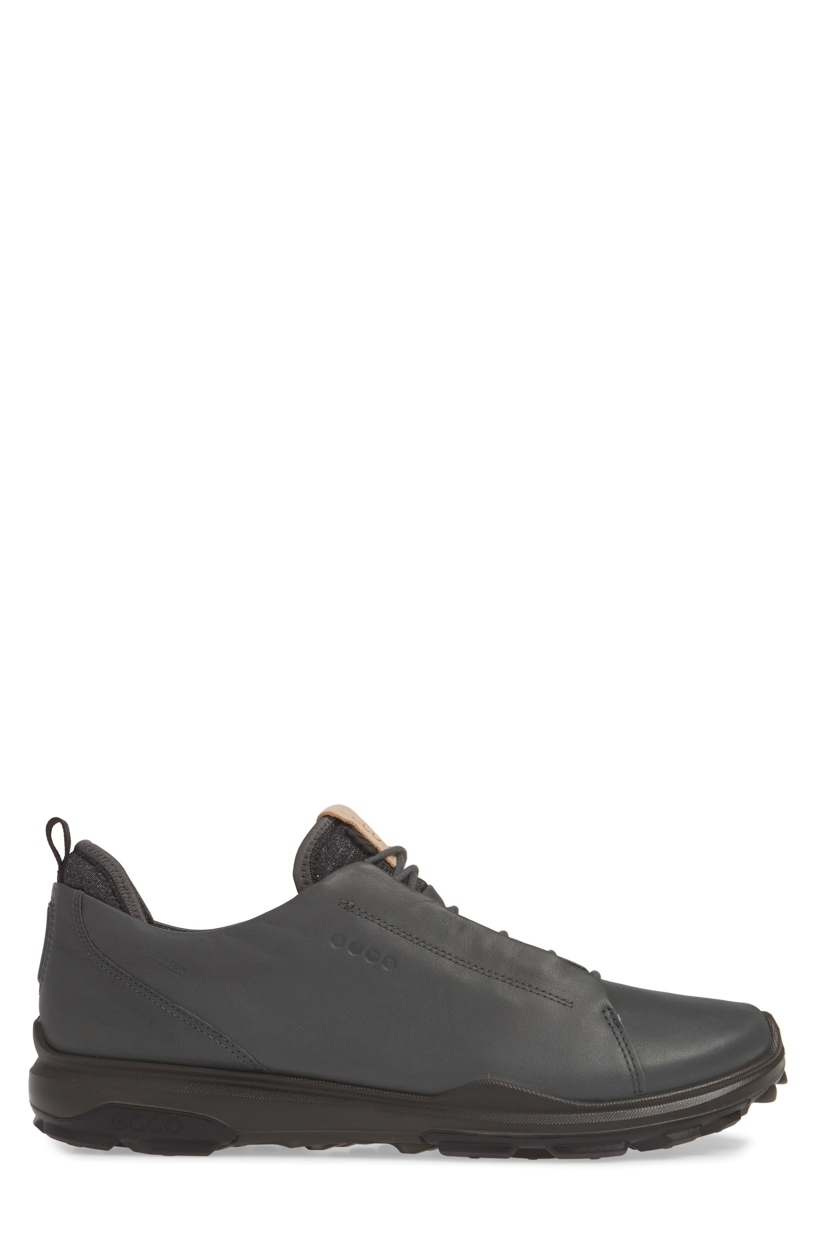 ECCO, BIOM<sup>®</sup> Hybrid 3 OL Gore-Tex<sup>®</sup> Golf Shoe, Alternate thumbnail 3, color, DARK SHADOW LEATHER