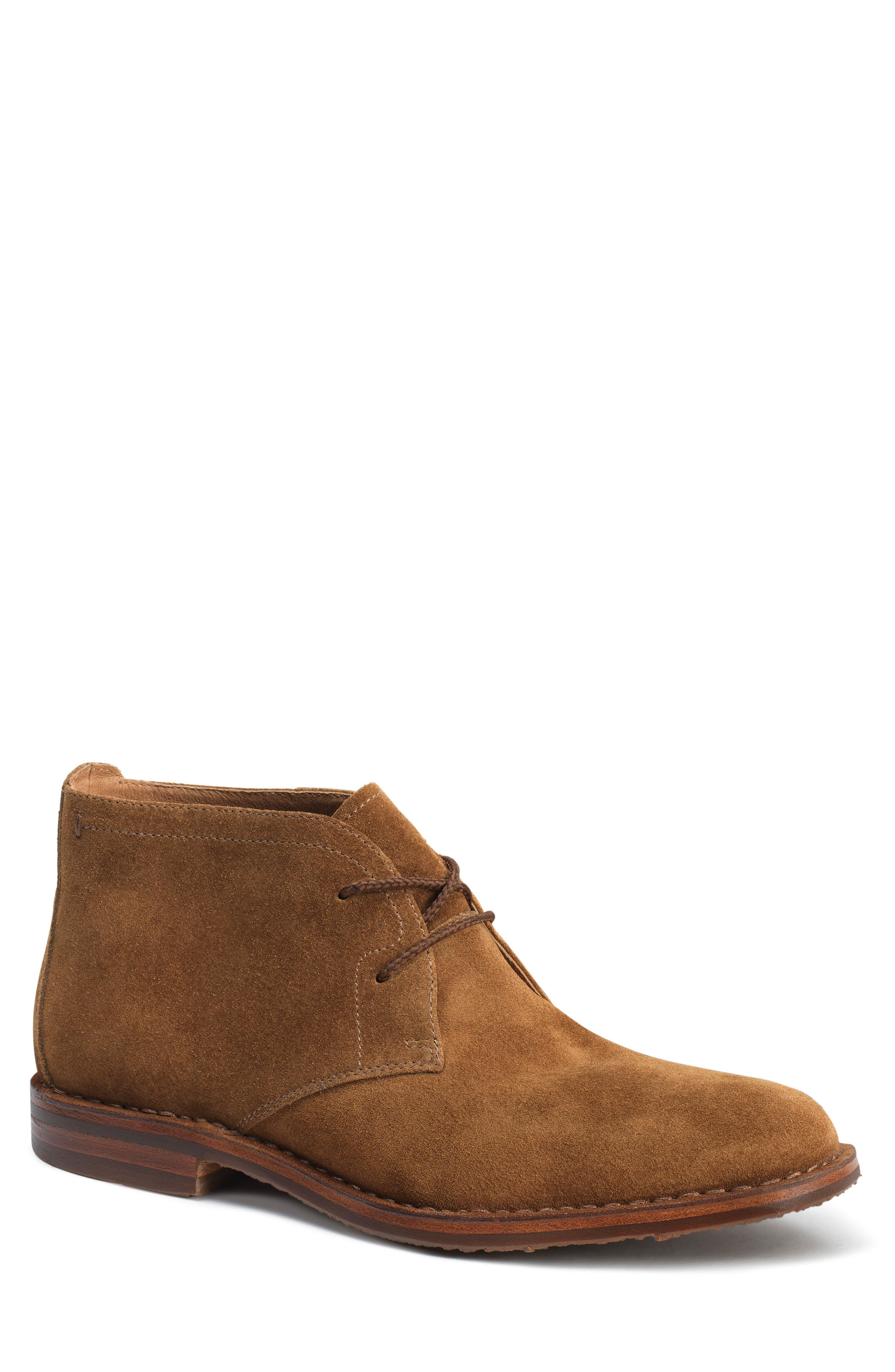 TRASK, 'Brady' Chukka Boot, Main thumbnail 1, color, SNUFF SUEDE