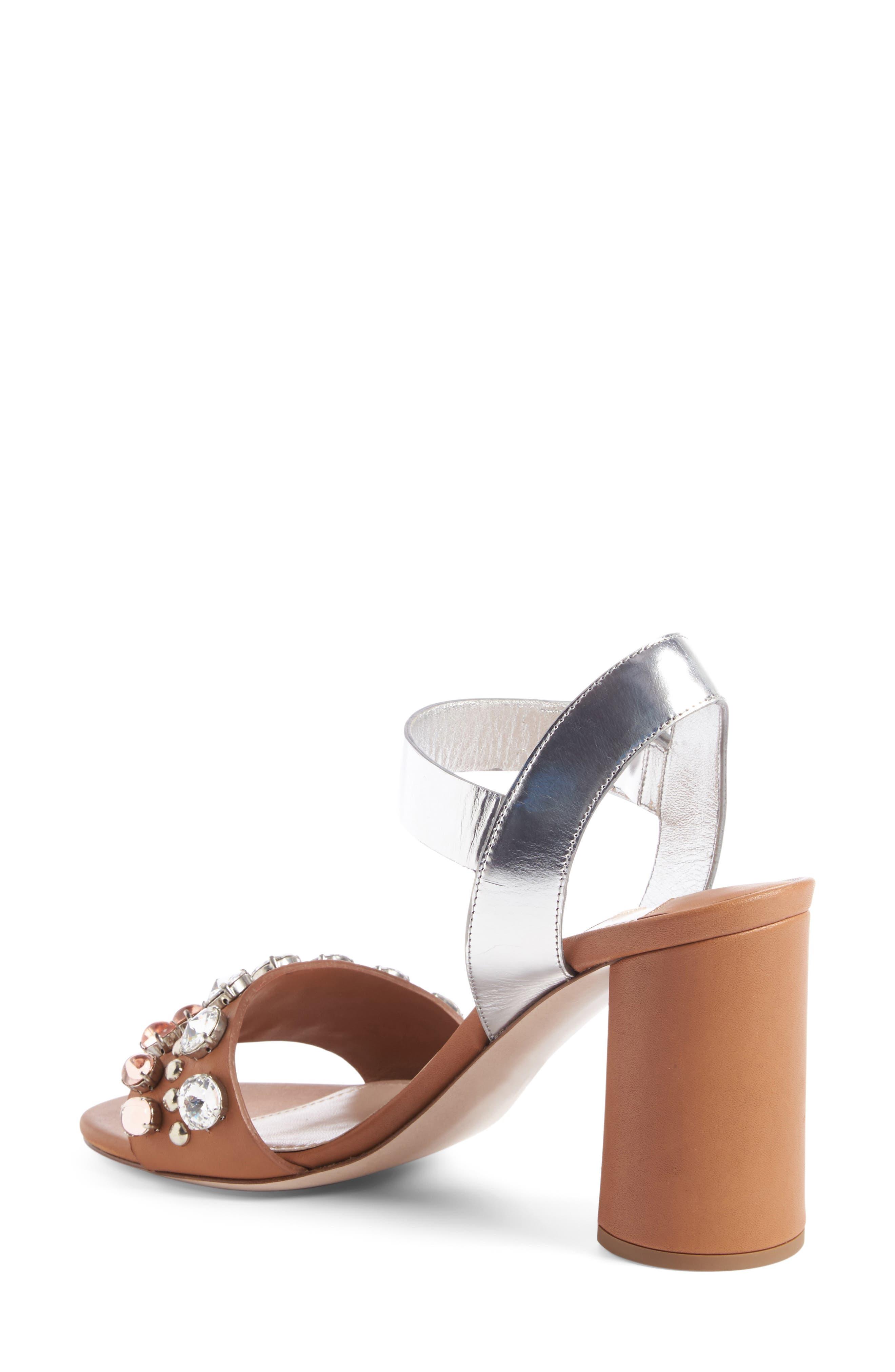 MIU MIU, Jewel Sandal, Main thumbnail 1, color, 200