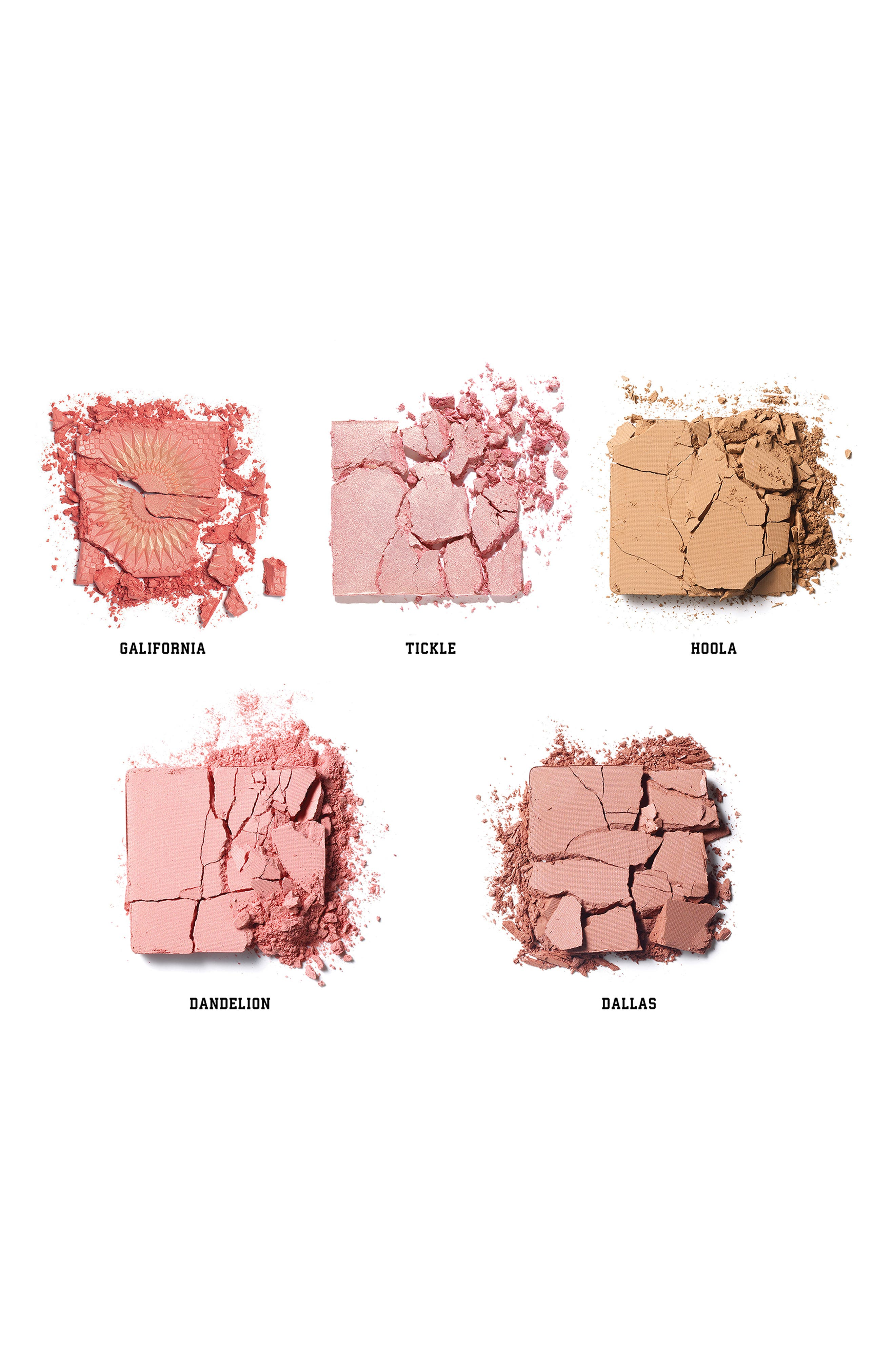 BENEFIT COSMETICS, Benefit Cheekleaders Pink Squad Cheek Palette, Alternate thumbnail 4, color, NO COLOR