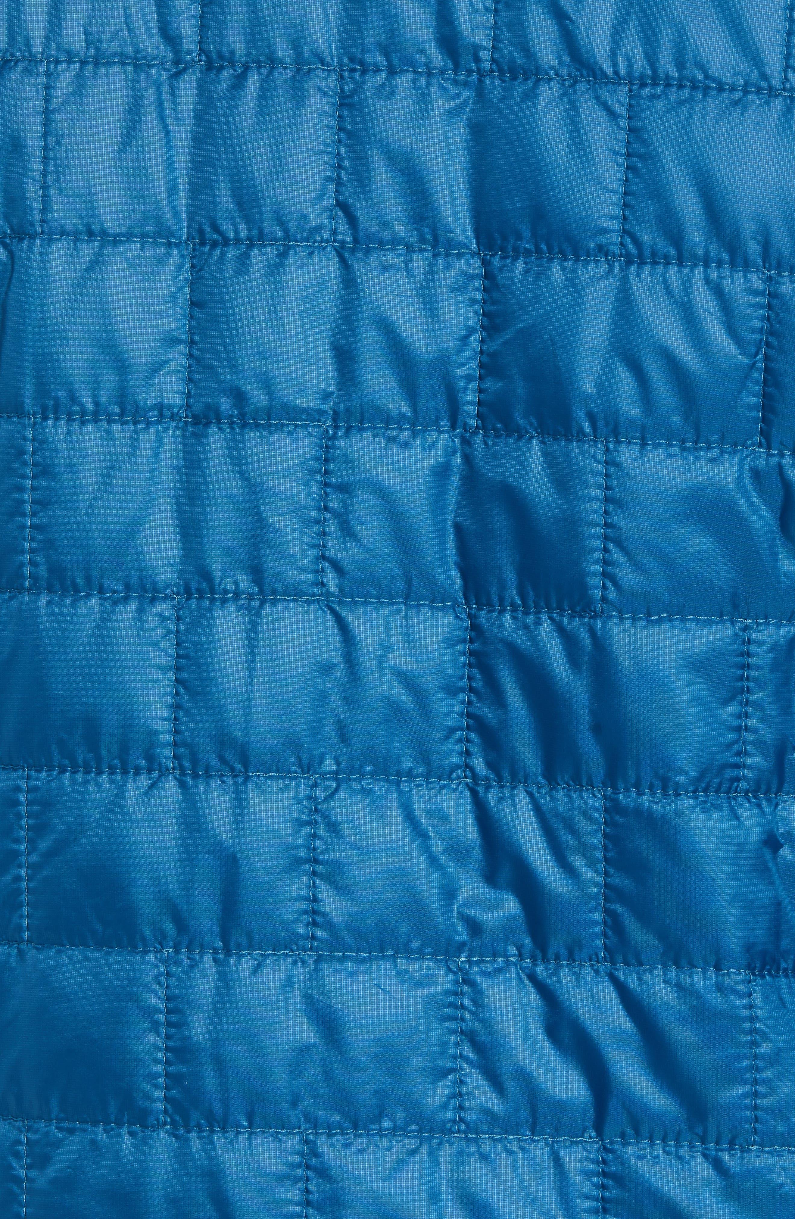 PATAGONIA, 'Nano Puff<sup>®</sup>' Water Resistant Jacket, Alternate thumbnail 7, color, BIG SUR BLUE W/ BALKAN BLUE