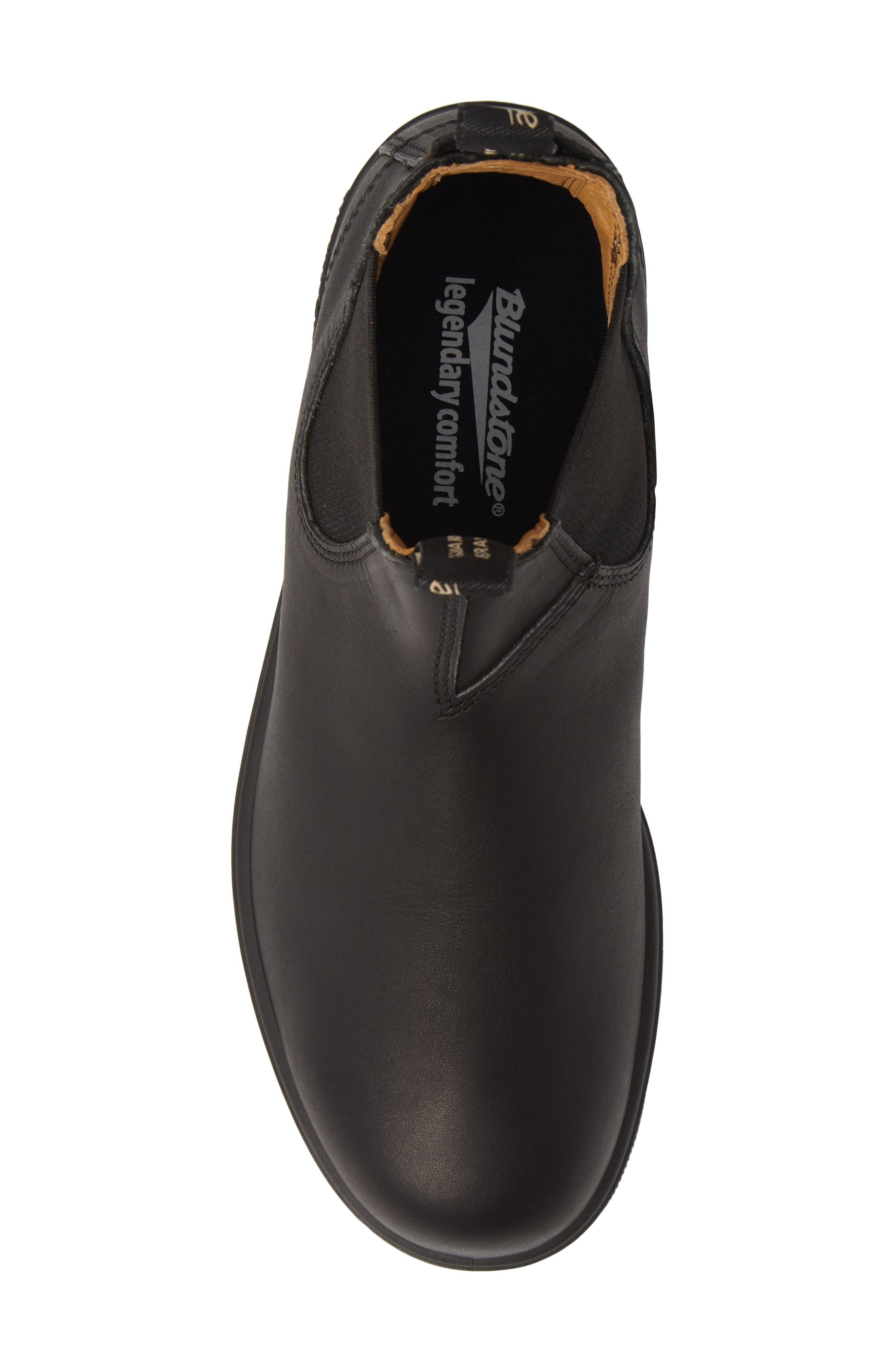 BLUNDSTONE FOOTWEAR, Chelsea Boot, Alternate thumbnail 5, color, BLACK
