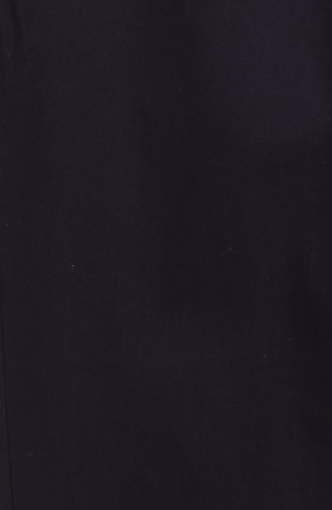 BURBERRY, Teo Straight Leg Pants, Alternate thumbnail 2, color, INK