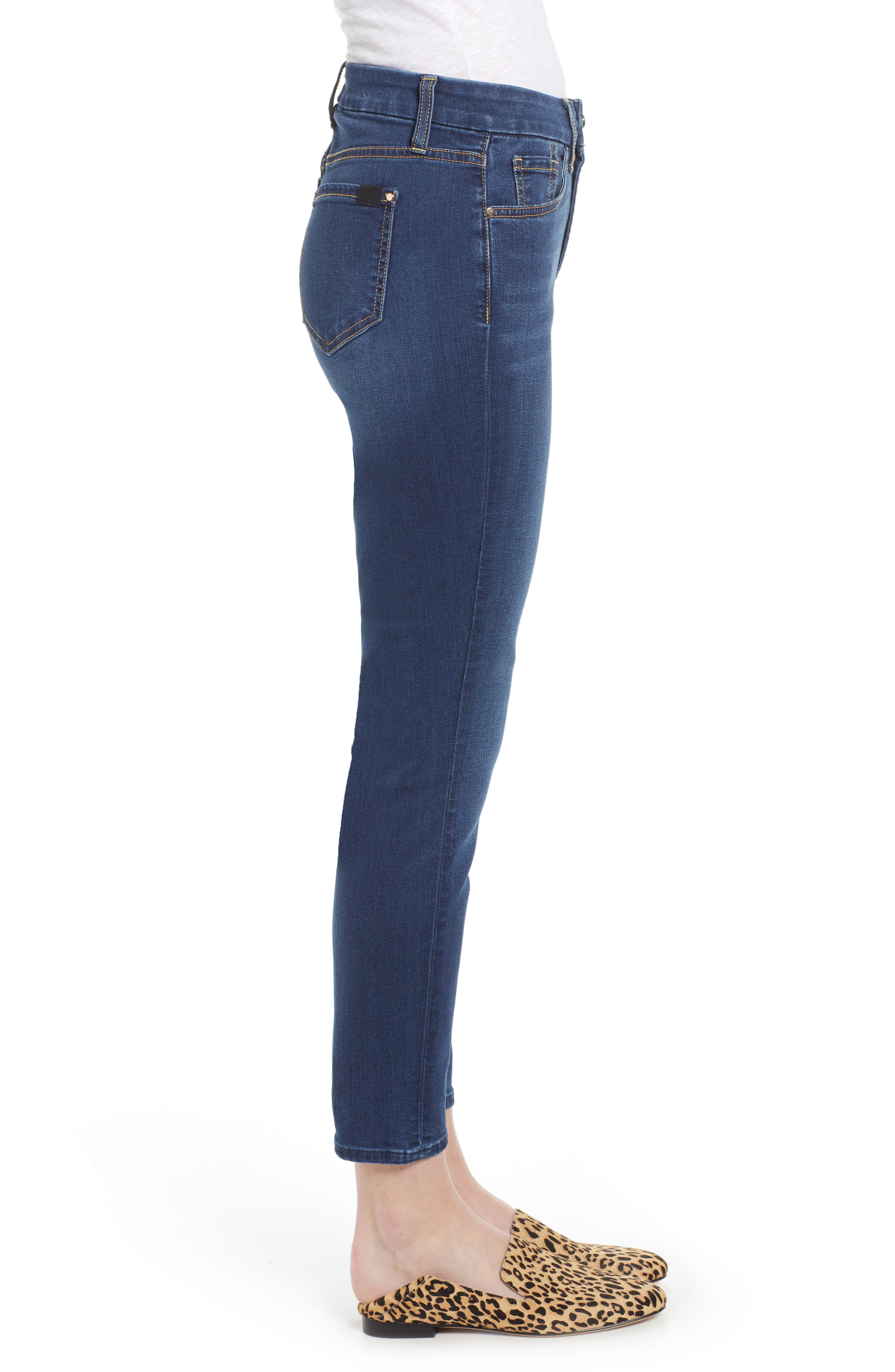 JEN7 BY 7 FOR ALL MANKIND, Ankle Skinny Jeans, Alternate thumbnail 4, color, 405