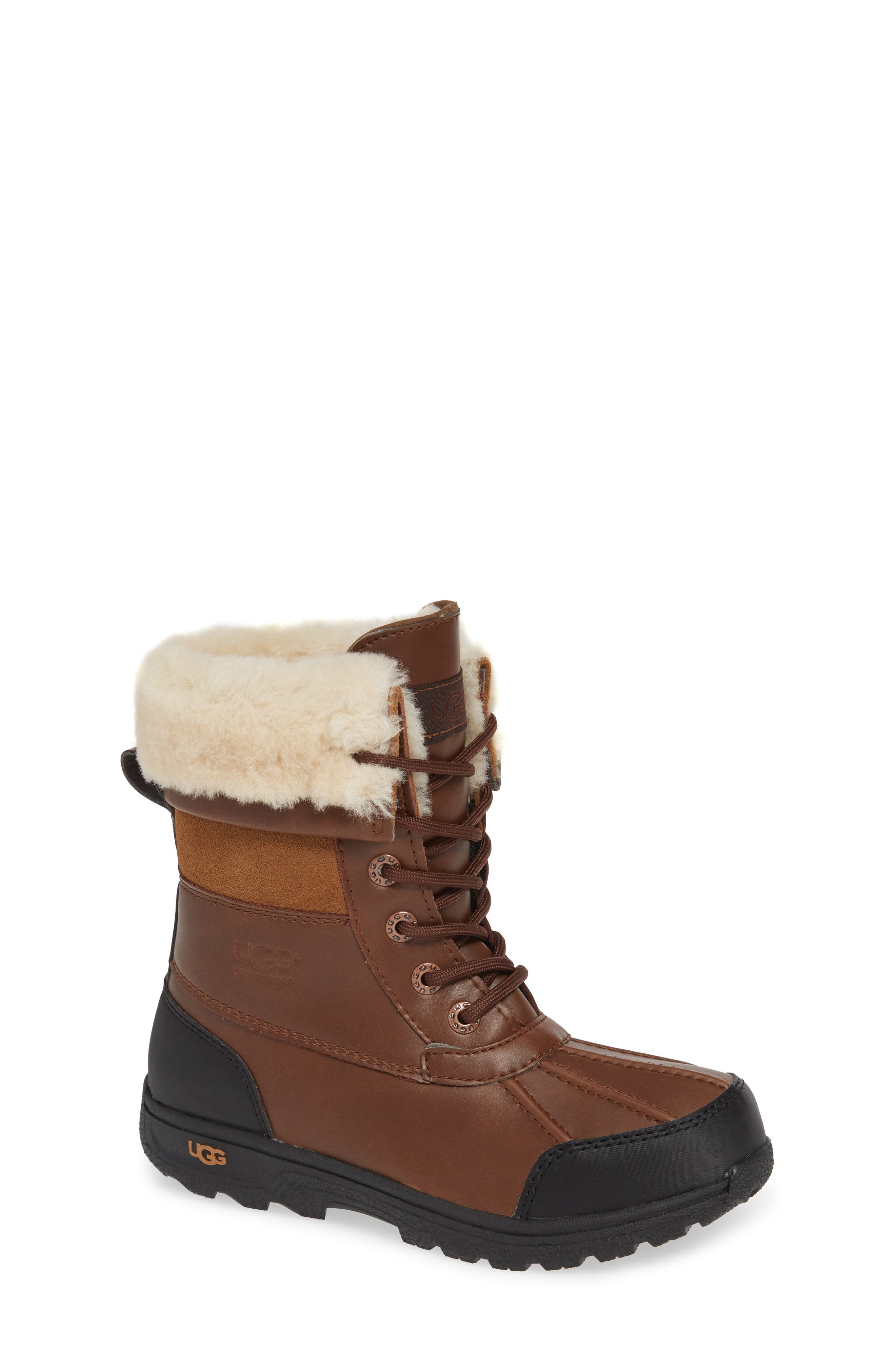 UGG<SUP>®</SUP> Butte II Waterproof Winter Boot, Main, color, WORCHESTER