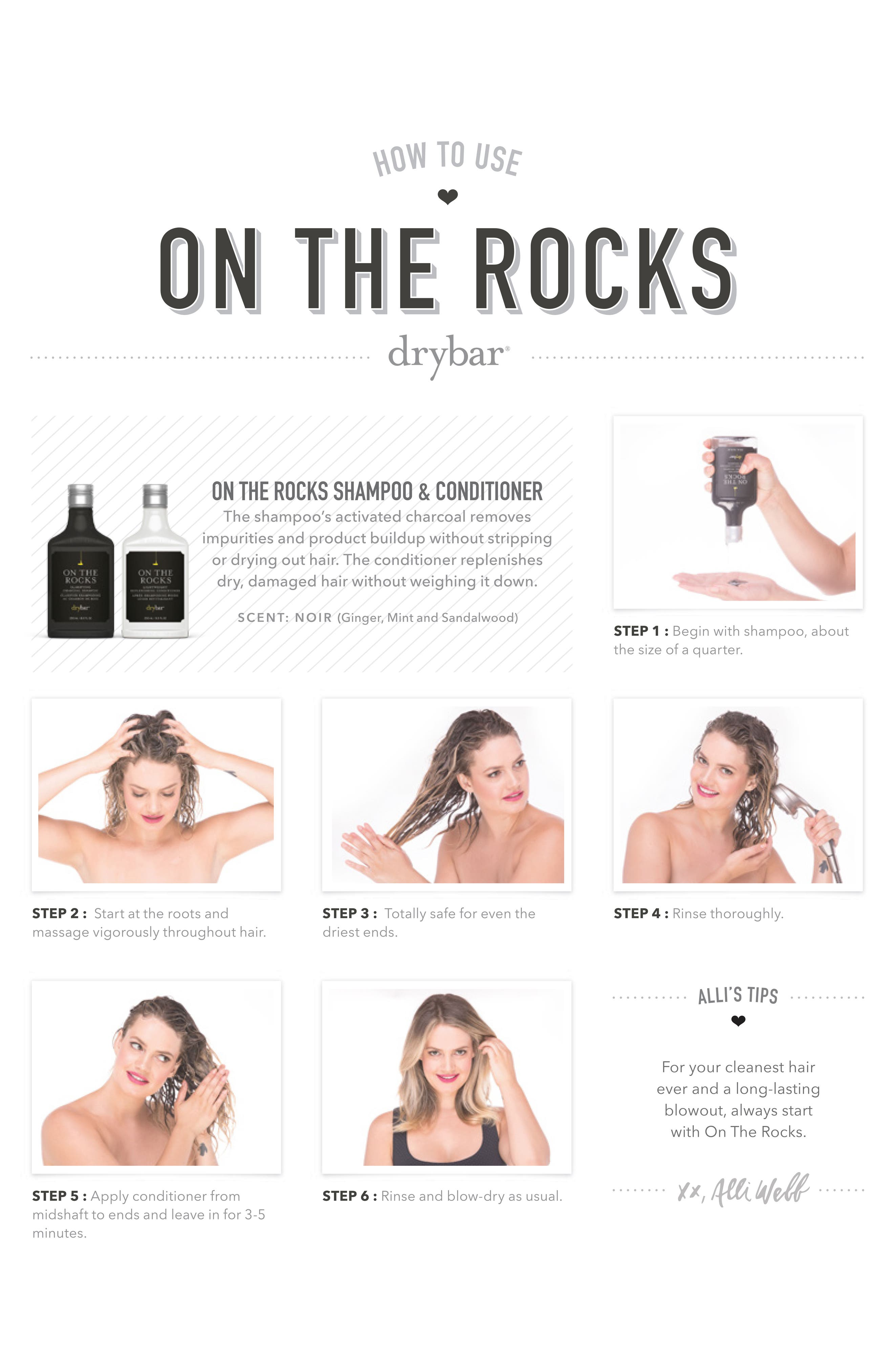 DRYBAR, On the Rocks Lightweight Conditioner, Alternate thumbnail 4, color, NO COLOR