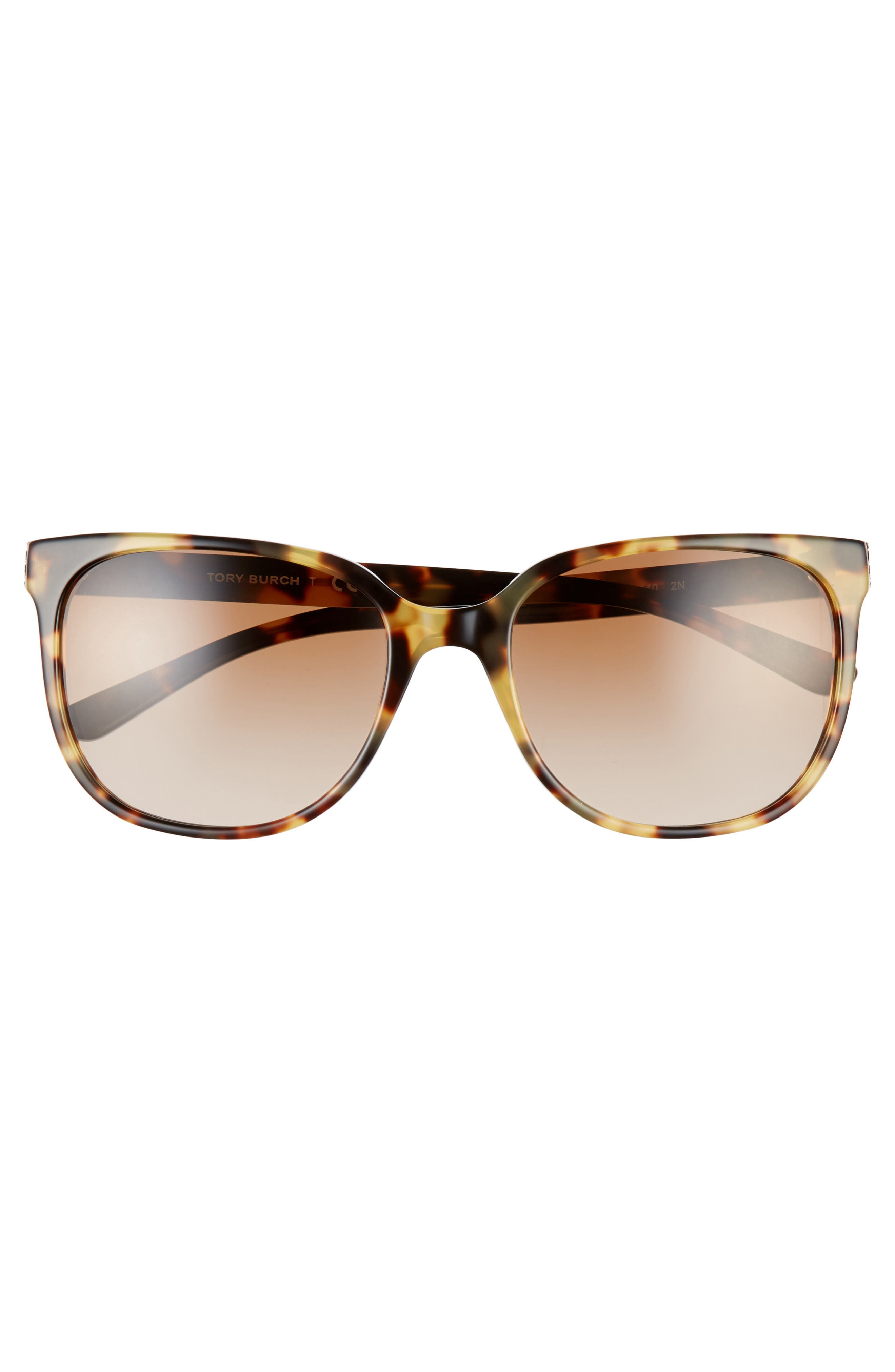 TORY BURCH, 57mm Gradient Sunglasses, Alternate thumbnail 3, color, 205
