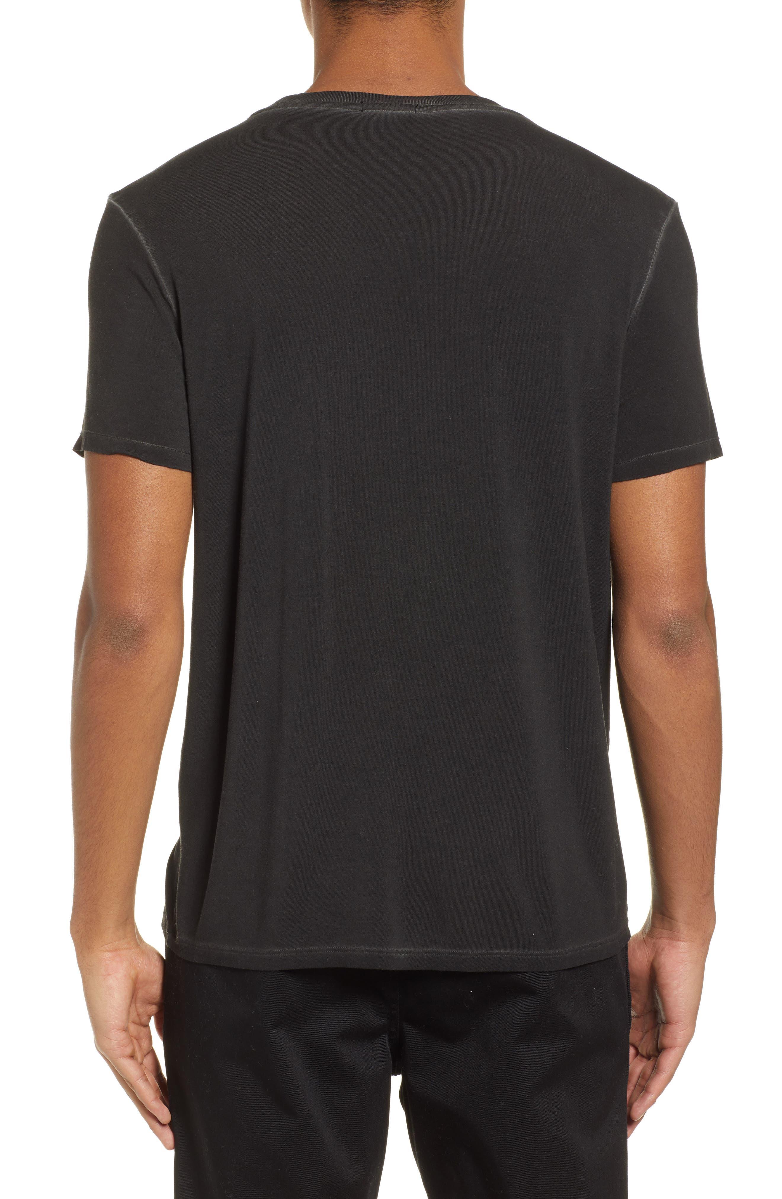 ATM ANTHONY THOMAS MELILLO, Sun Bleached Oversized T-Shirt, Alternate thumbnail 2, color, BLACK
