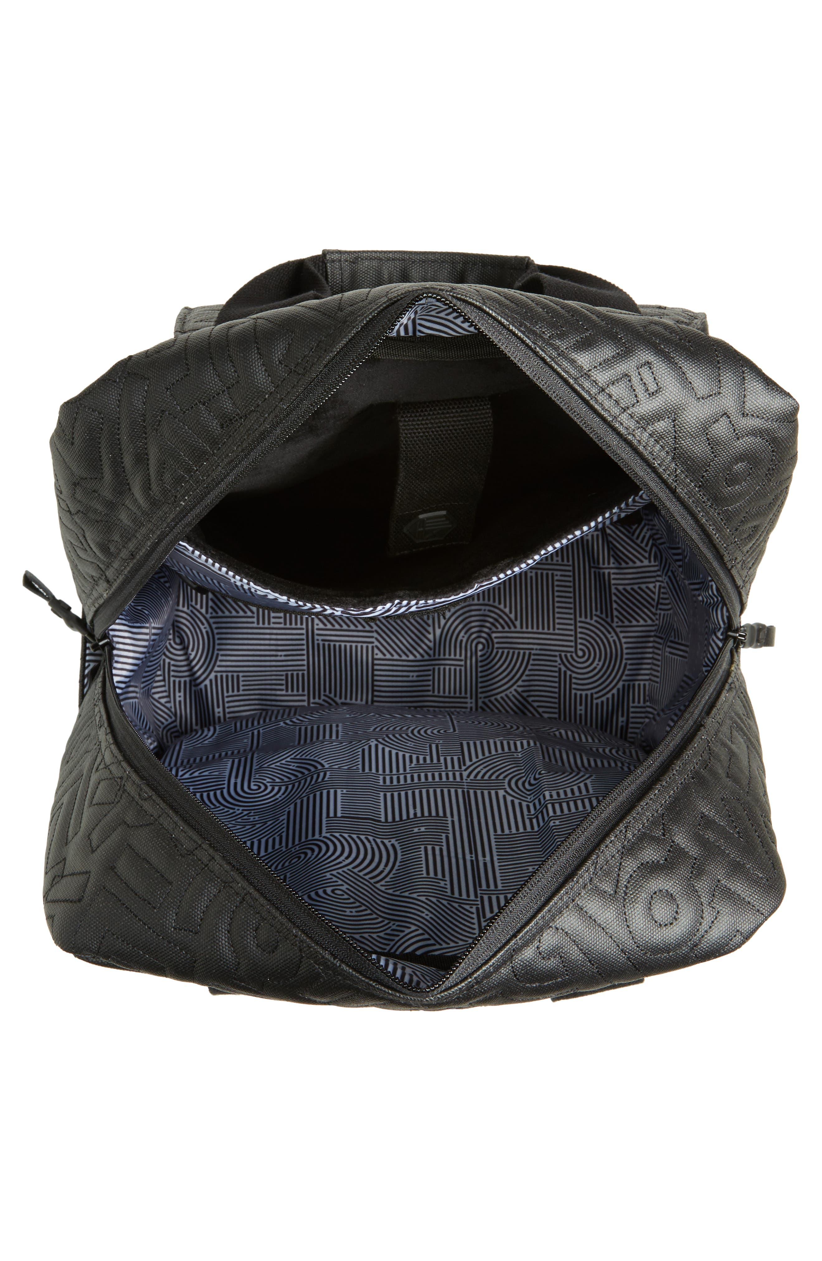 HEX, x Aaron De La Cruz Convertible Backpack, Alternate thumbnail 4, color, 003