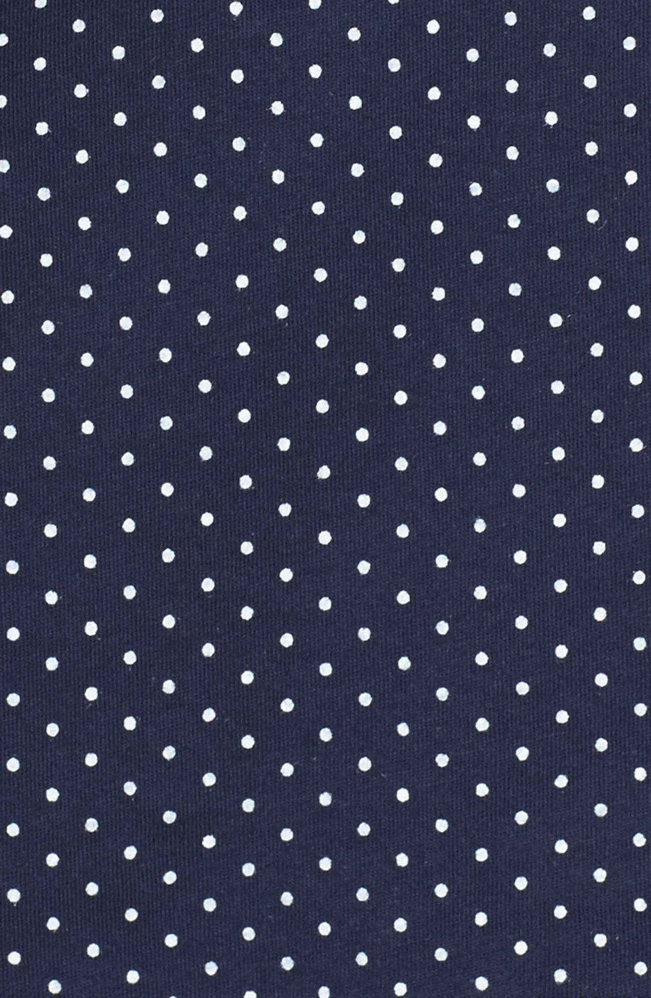 LAUREN RALPH LAUREN, Bermuda Pajamas, Alternate thumbnail 5, color, NAVY DOT