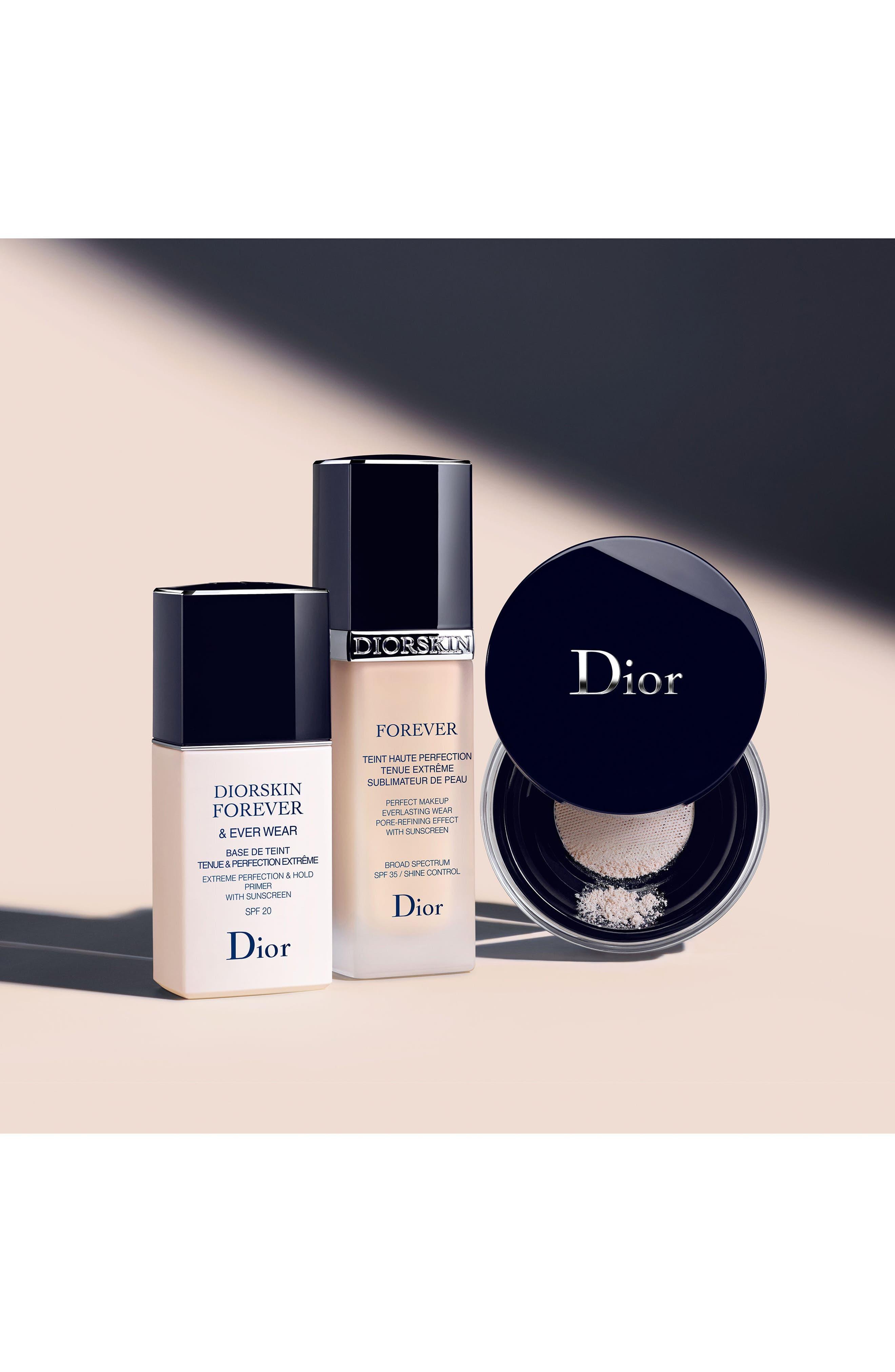 DIOR, Diorskin Forever & Ever Wear Makeup Primer SPF 20, Alternate thumbnail 2, color, NO COLOR
