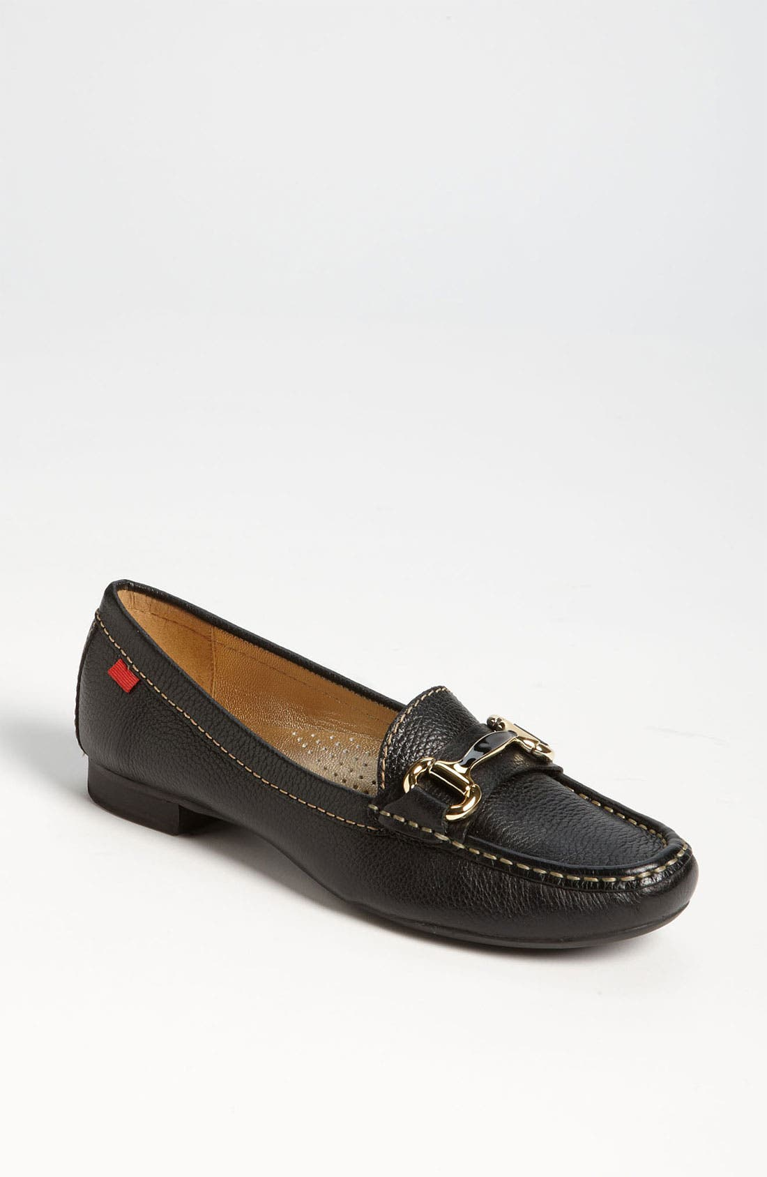 MARC JOSEPH NEW YORK, 'Grand St.' Loafer, Main thumbnail 1, color, BLACK GRAINY