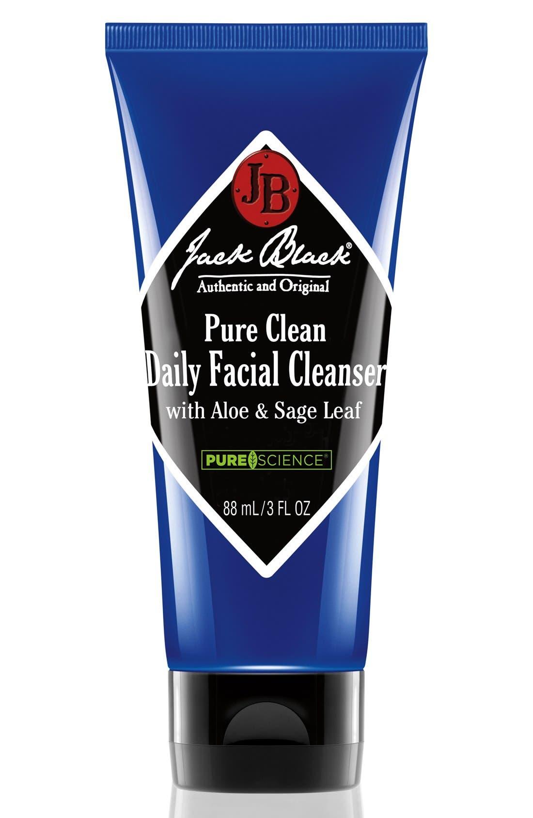JACK BLACK, Pure Clean Daily Facial Cleanser, Main thumbnail 1, color, NO COLOR